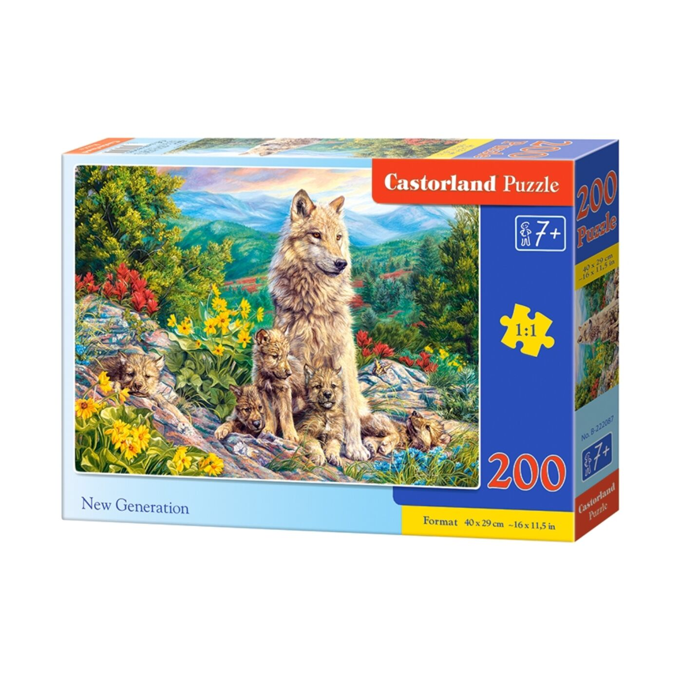 200 db-os puzzle - Új generáció