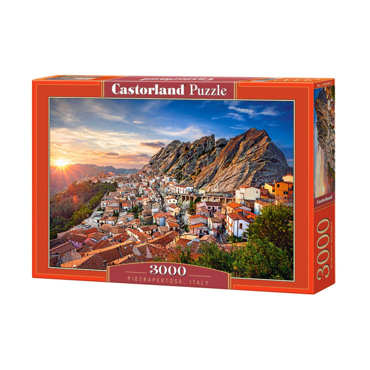 3000 db-os puzzle  - Pietrapertosa, Olaszország
