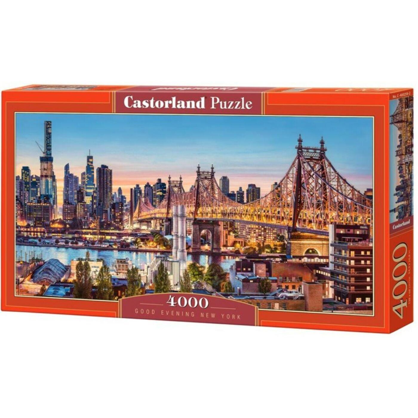 4000 db-os puzzle - Jó estét New York