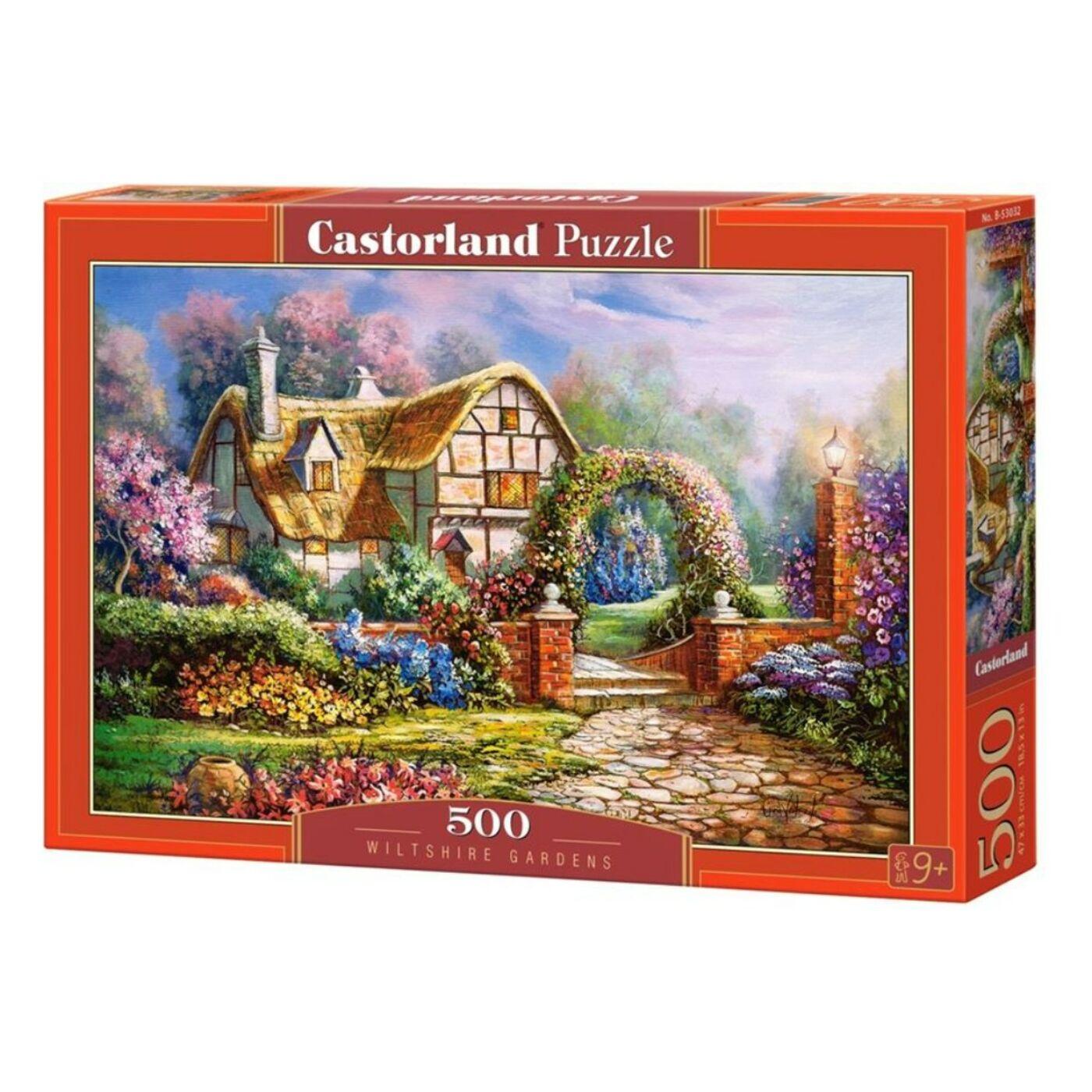 500 db-os puzzle - Wiltshire-i kertek