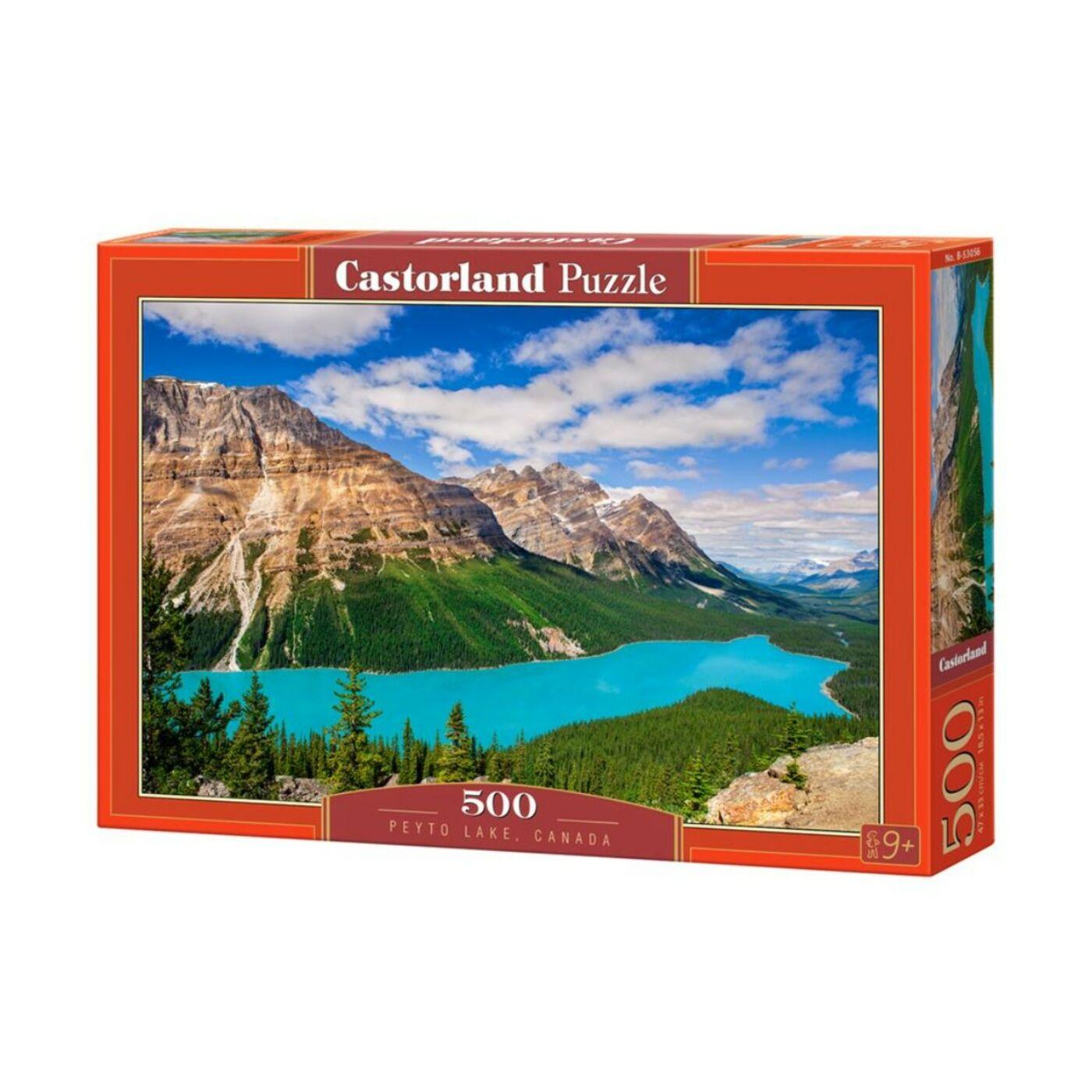 500 db-os puzzle - Peyto tó, Kanada