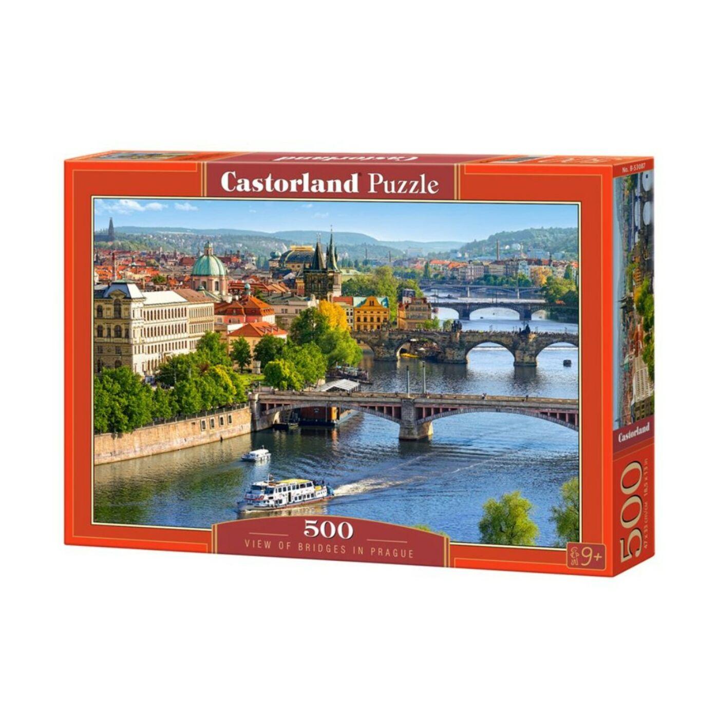 500 db-os puzzle - Hidak Prágában