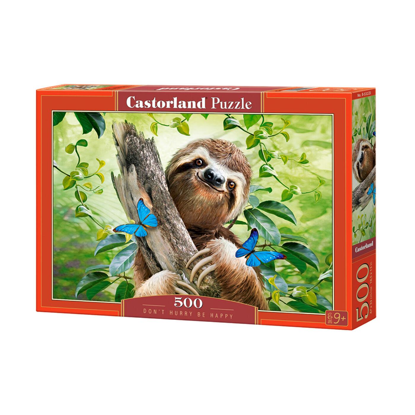 500 db-os puzzle - Ne siess, légy boldog