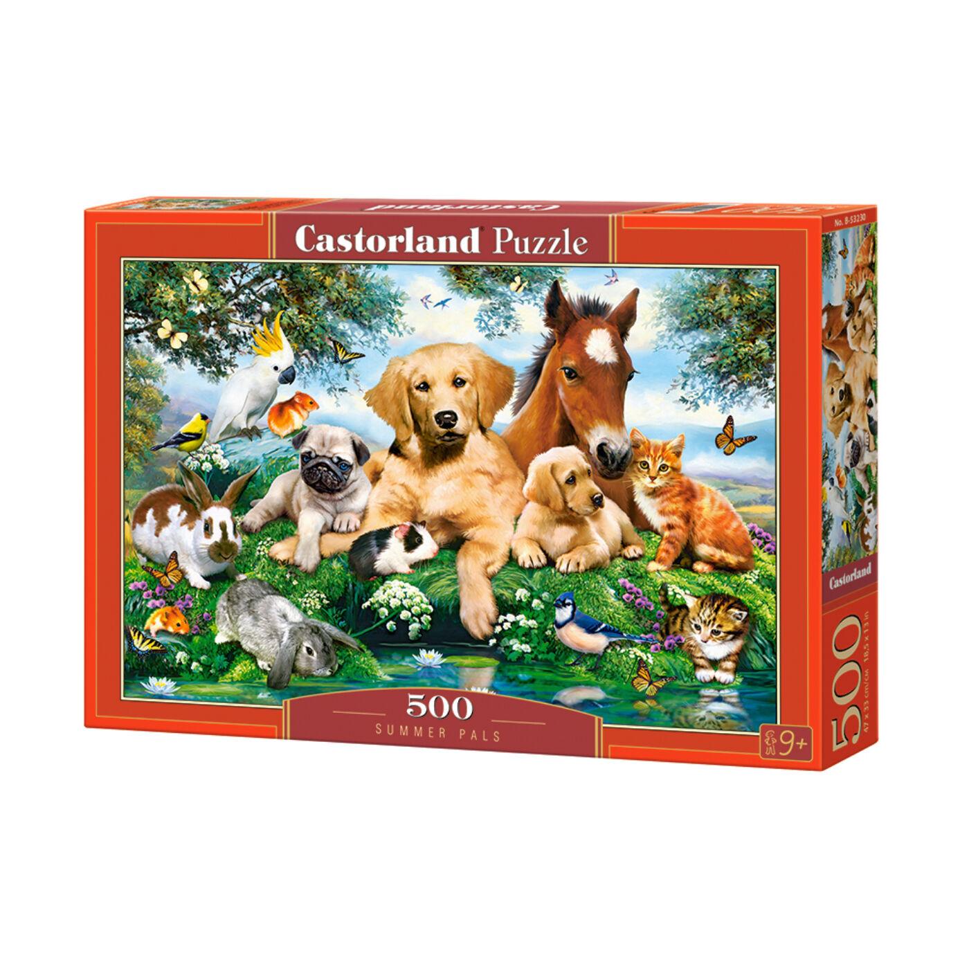 500 db-os puzzle - Nyári barátság