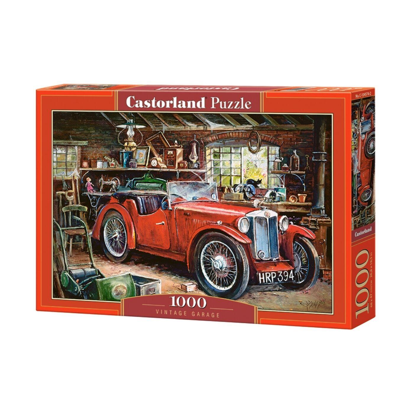 1000 db-os Castorland  Puzzle -  Vintage garázs