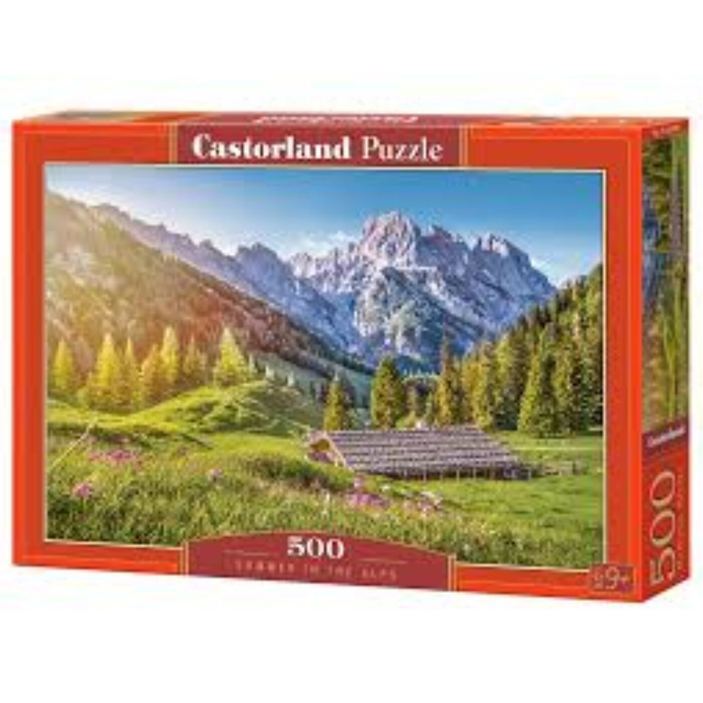 500 db-os puzzle - Nyár az Alpokban