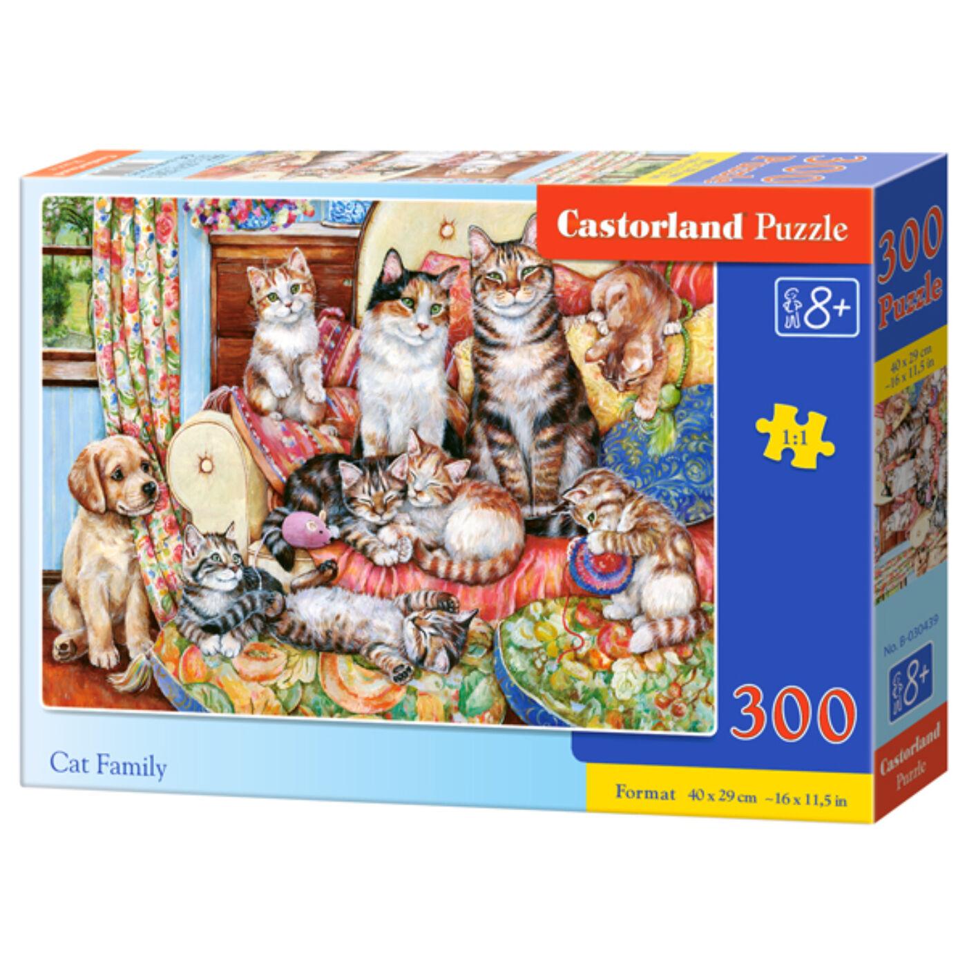 300 db-os kirakó - Macska család