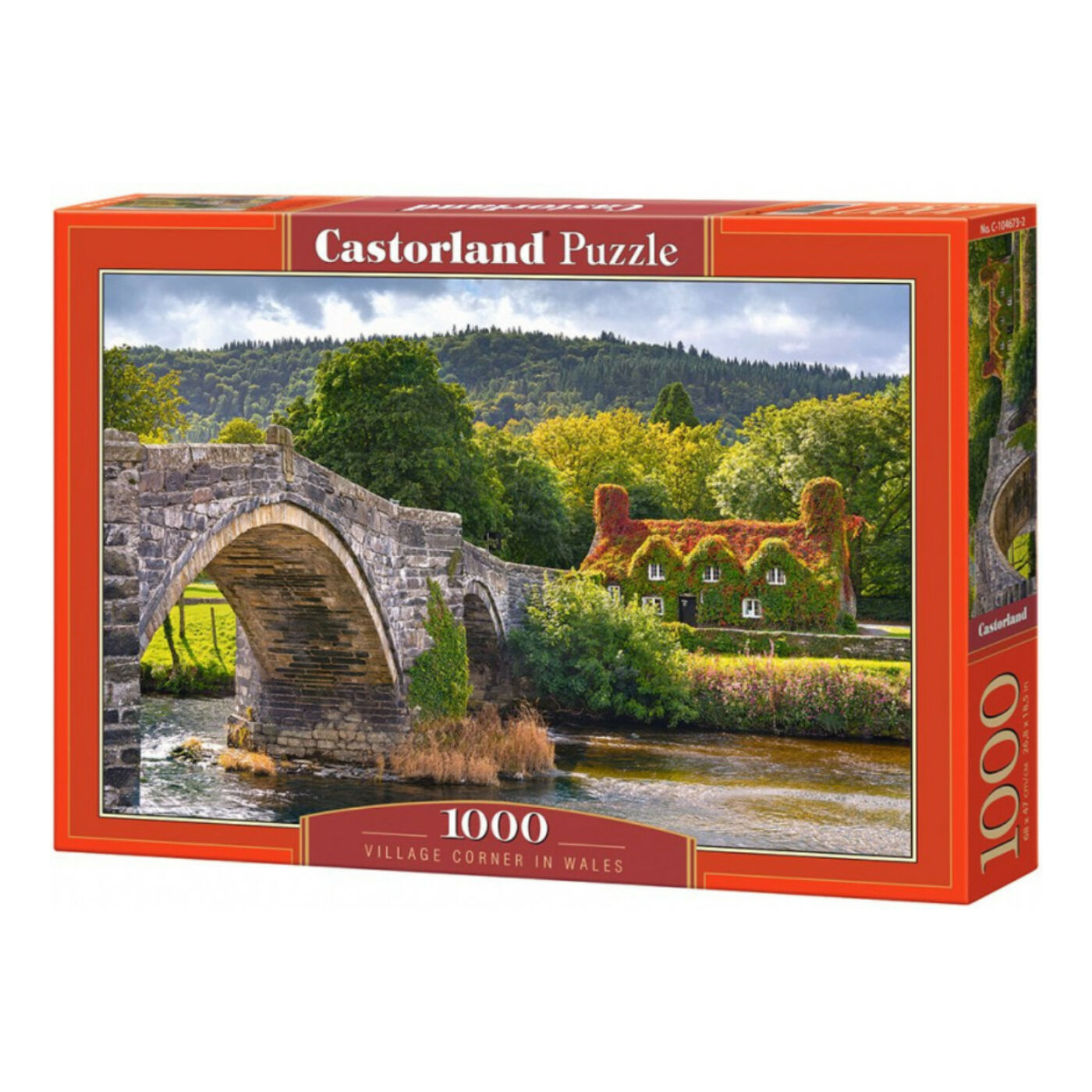 1000 db-os Castorland  Puzzle -  Wales