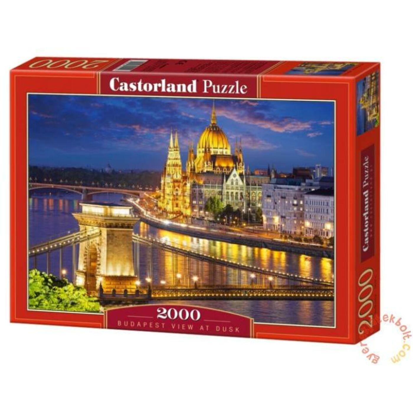 2000 db-os Puzzle - Budapesti látkép