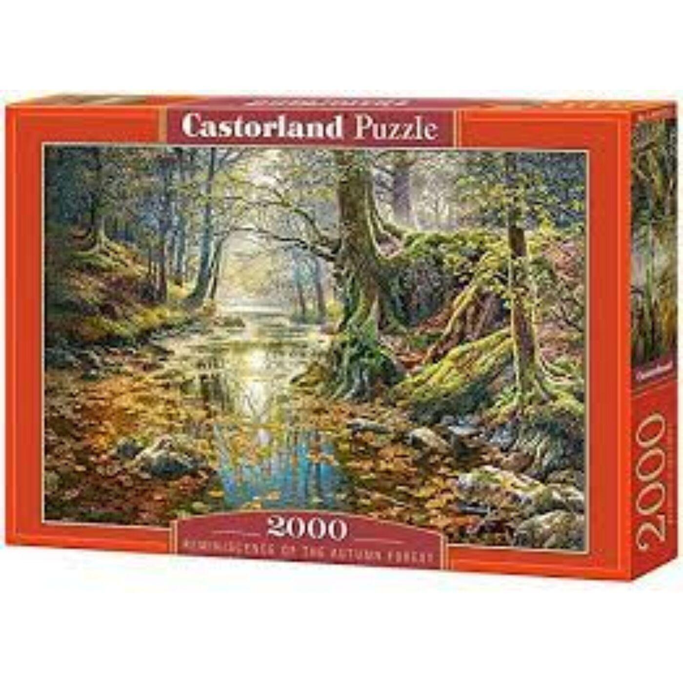 2000 db-os Puzzle - Őszi emlékek