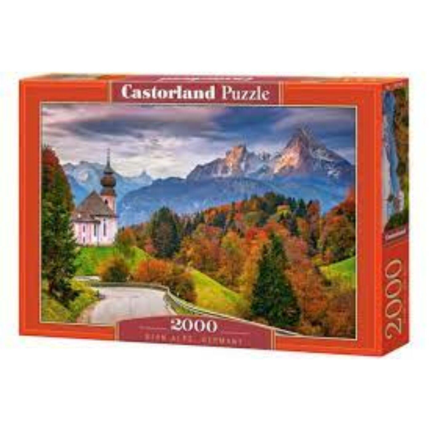 2000 db-os Puzzle - Ősz a bajor Alpokban, Németország
