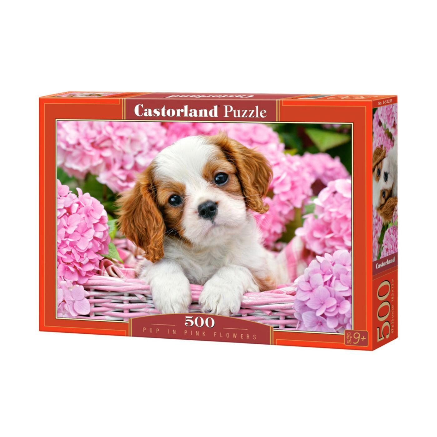 500 db-os puzzle - Kutyakölyök