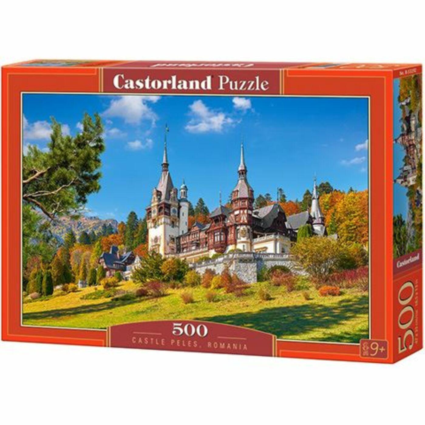 500 db-os puzzle - Peles kastély, Románia