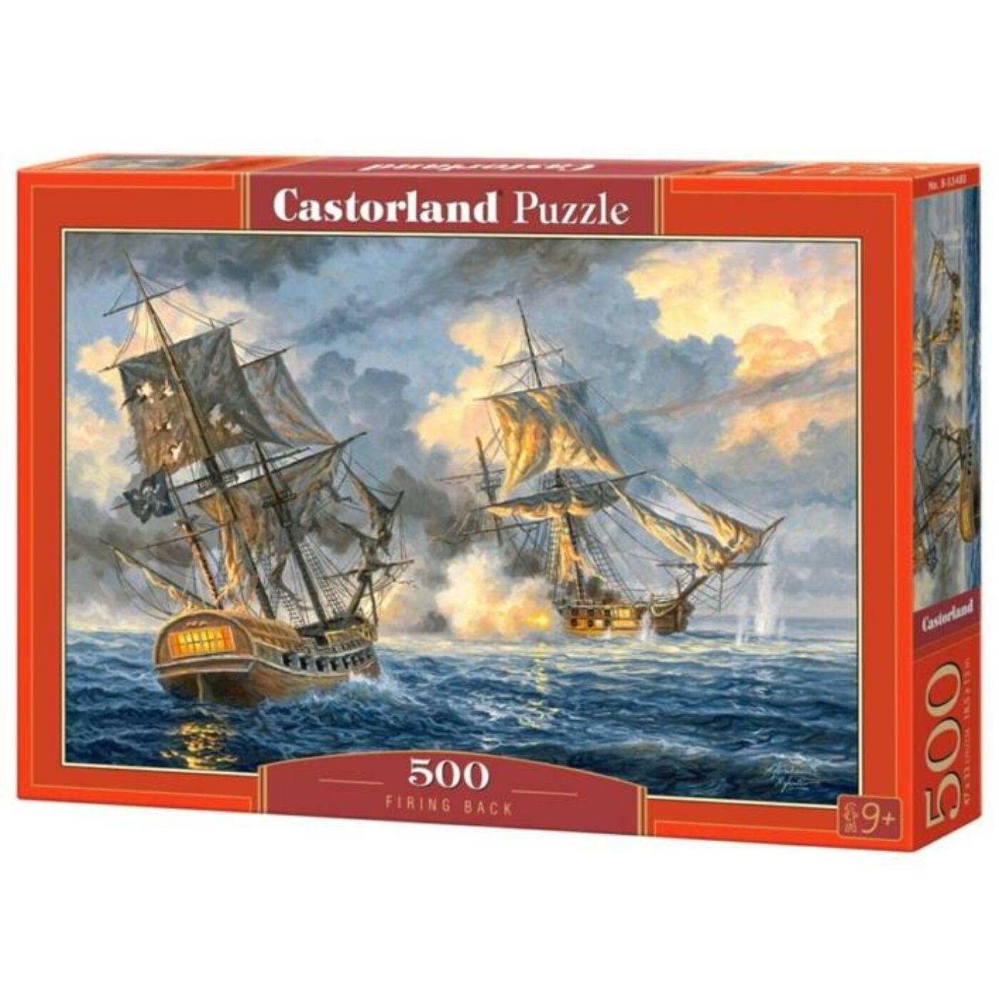 500 db-os puzzle - Ágyútűz