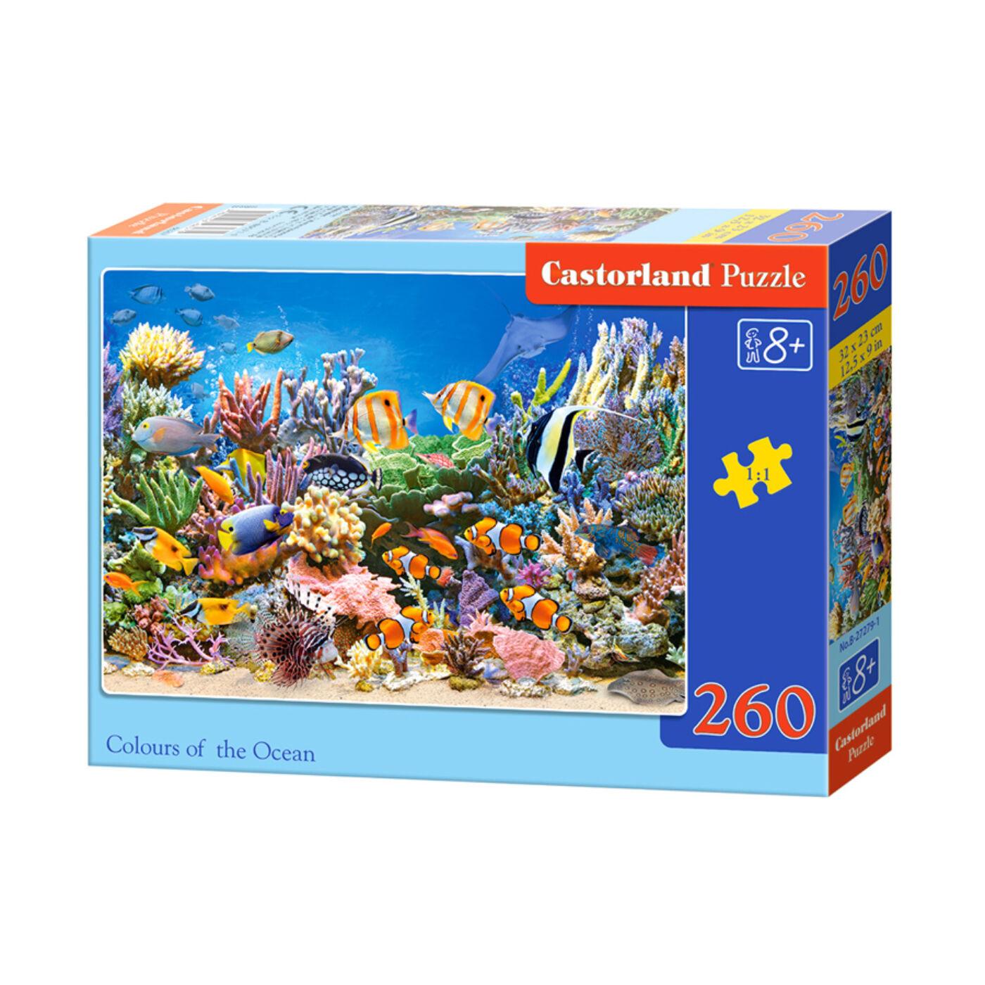 260 db-os Puzzle – Az óceán színei