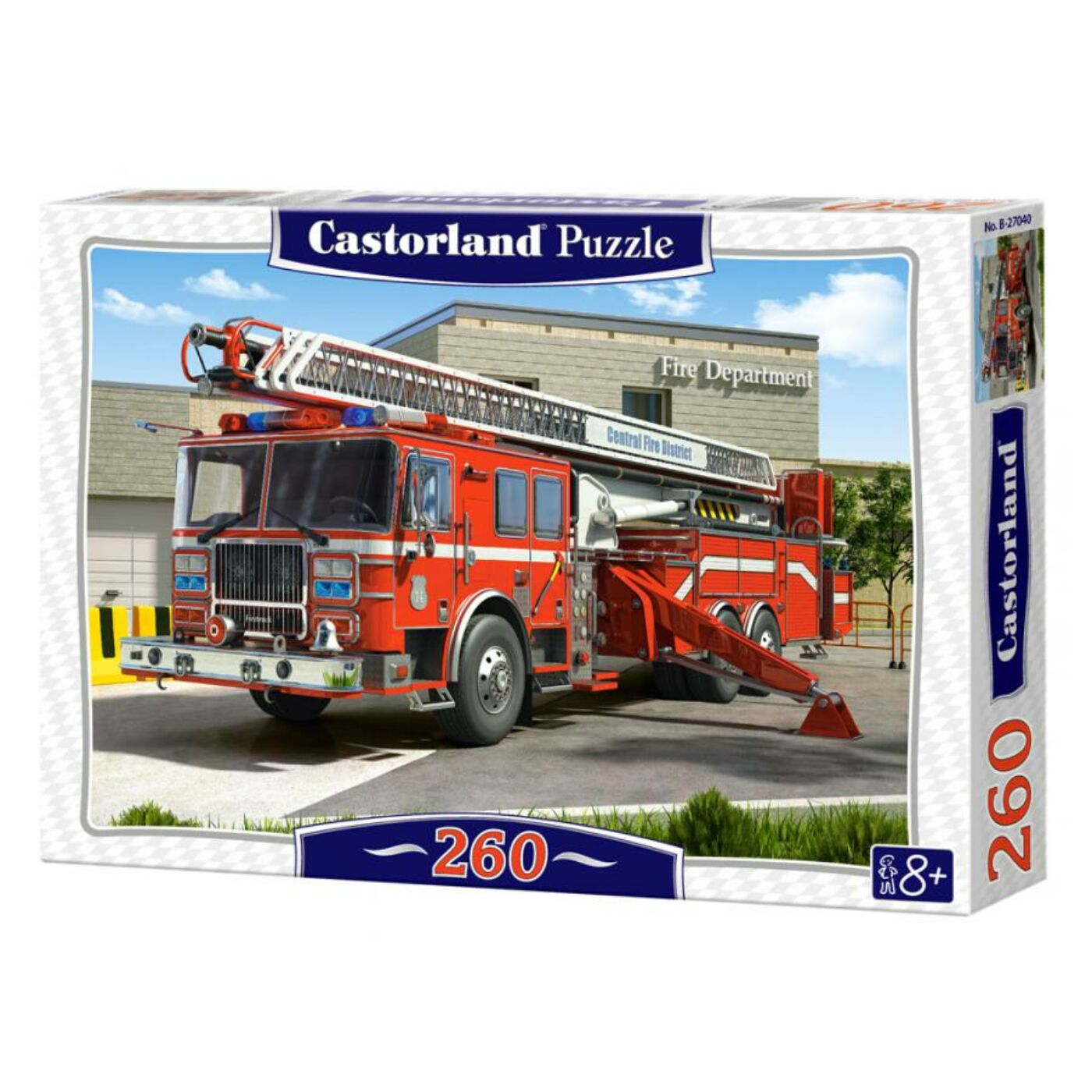 260 db-os Puzzle – Tűzoltóautó