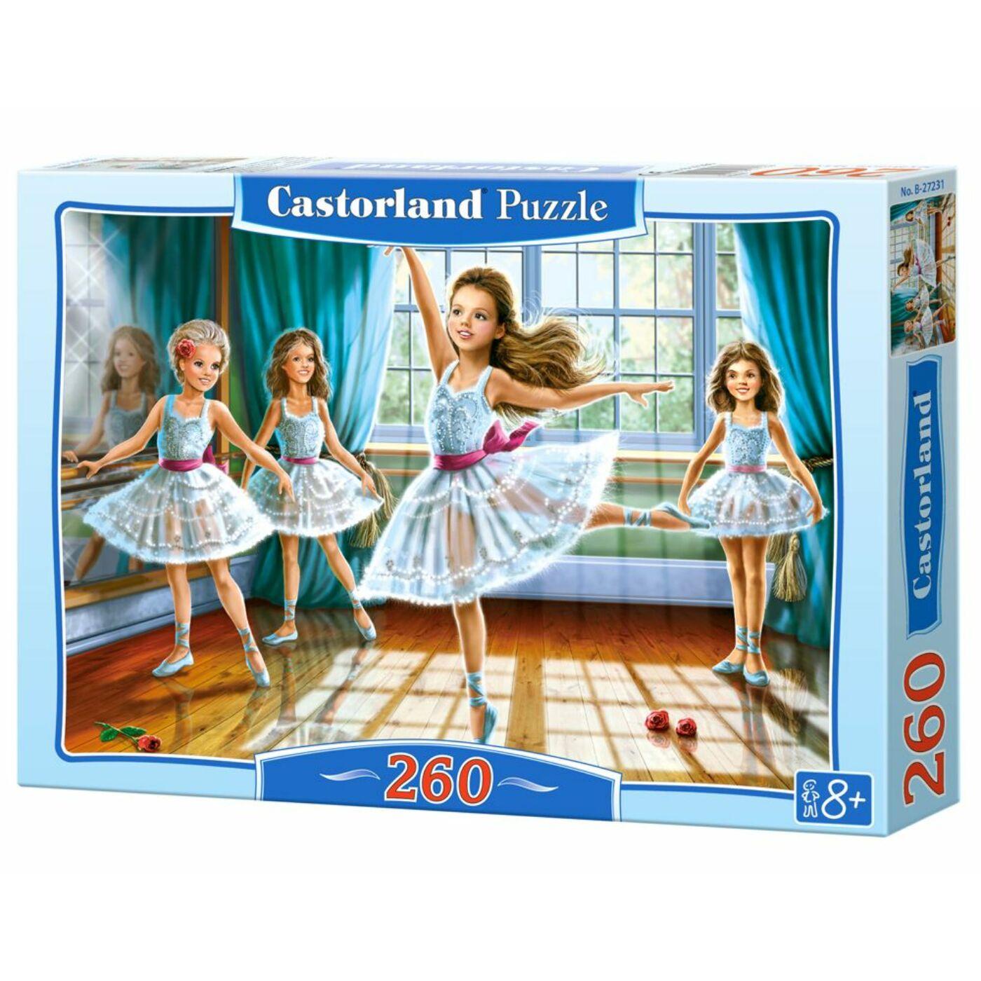 260 db-os puzzle – Kicsi balerinák
