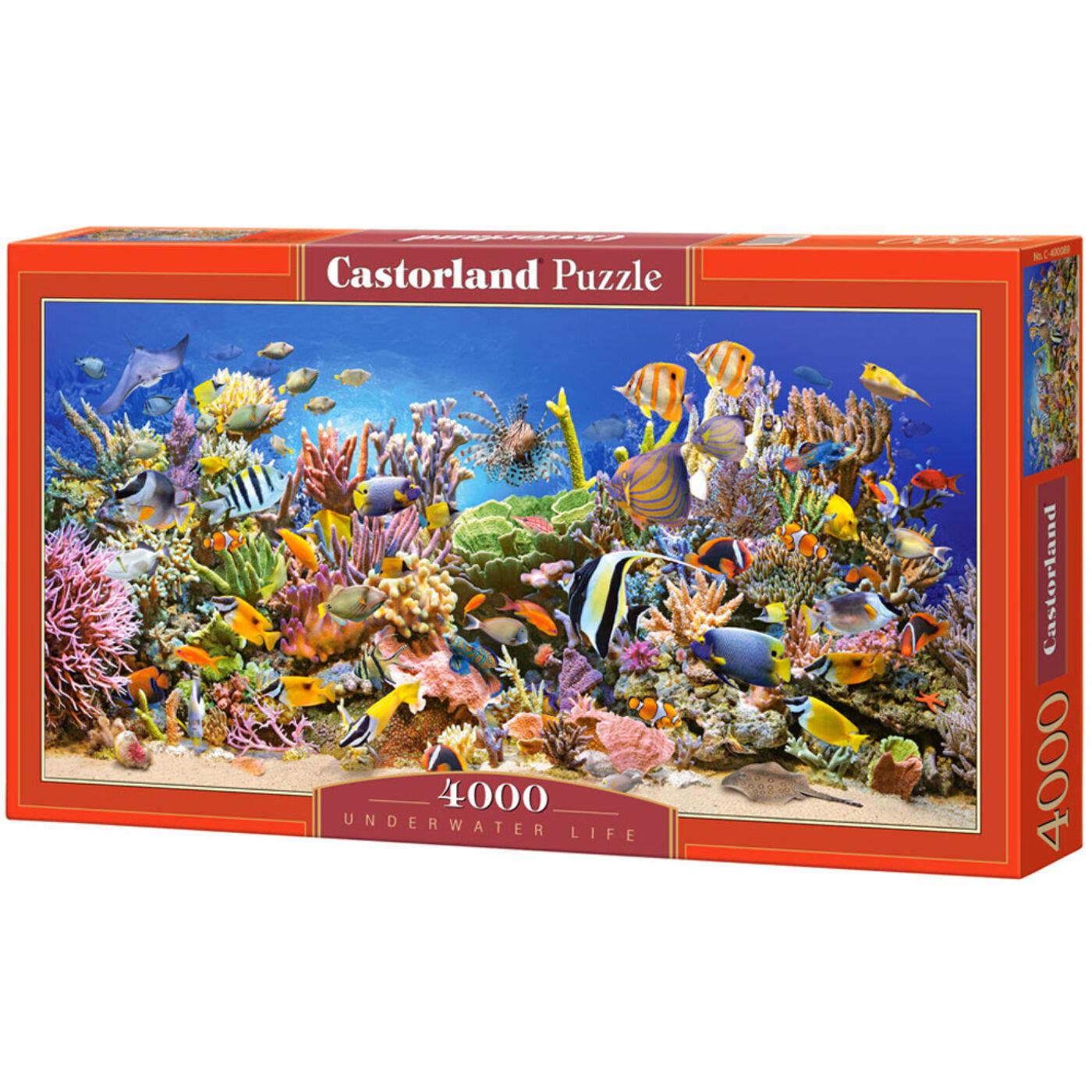 4000 db-os puzzle – Vízalatti élet