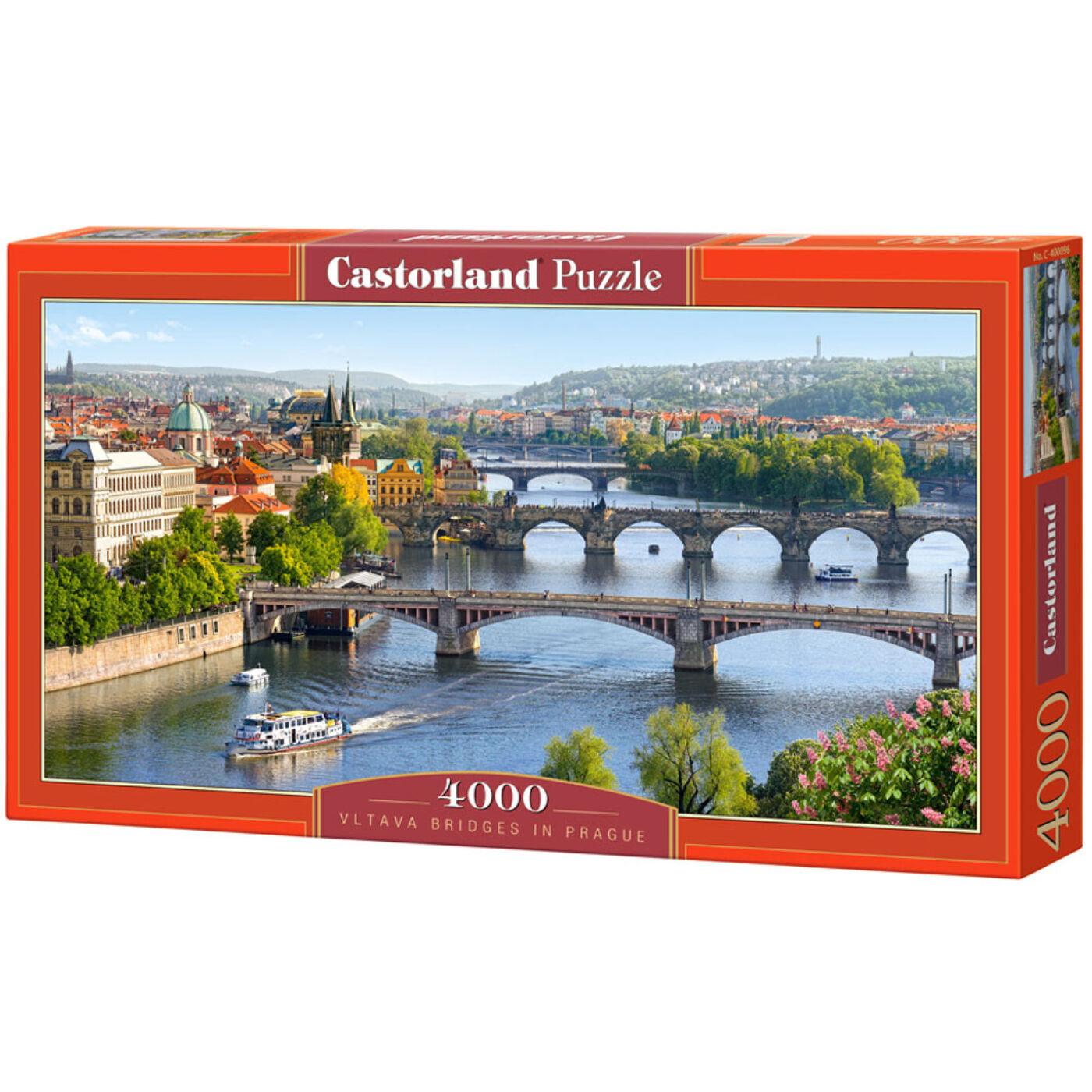 4000 db-os puzzle – Vltava híd