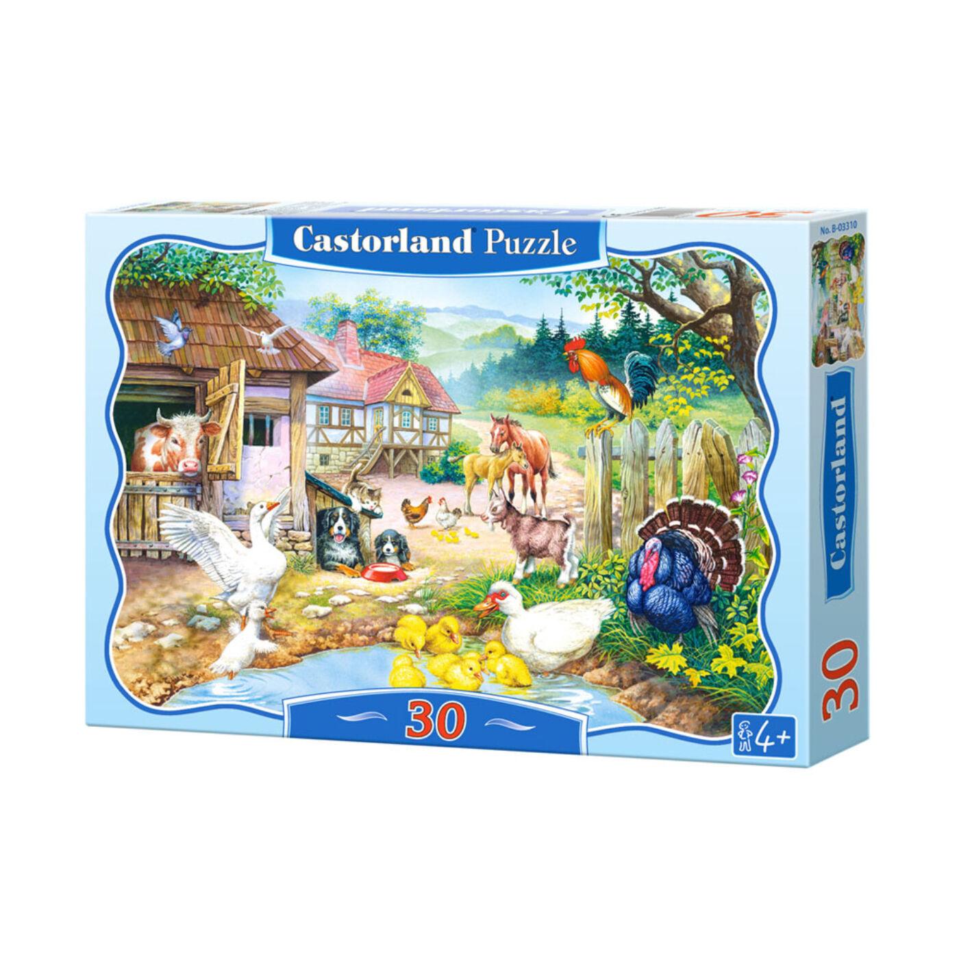30 db-os puzzle - Farm