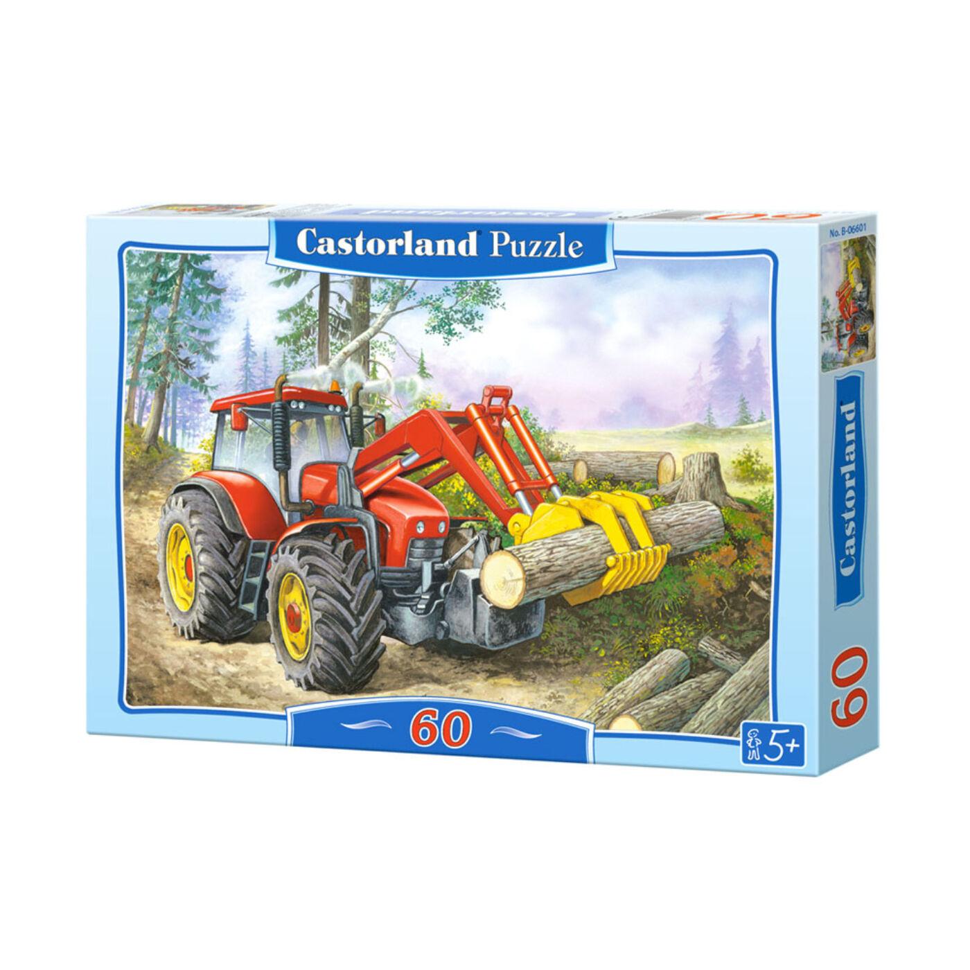 60 db-os Puzzle – Erdő kitermelési terület