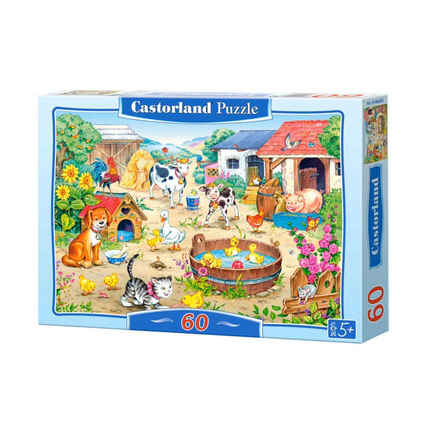60 db-os puzzle – Farm