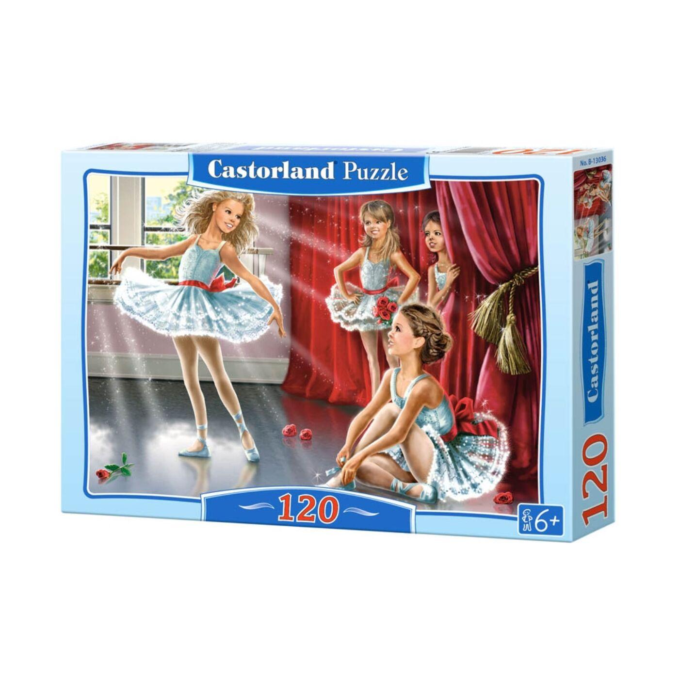 120 db-os Castorland puzzle – Balett csoport