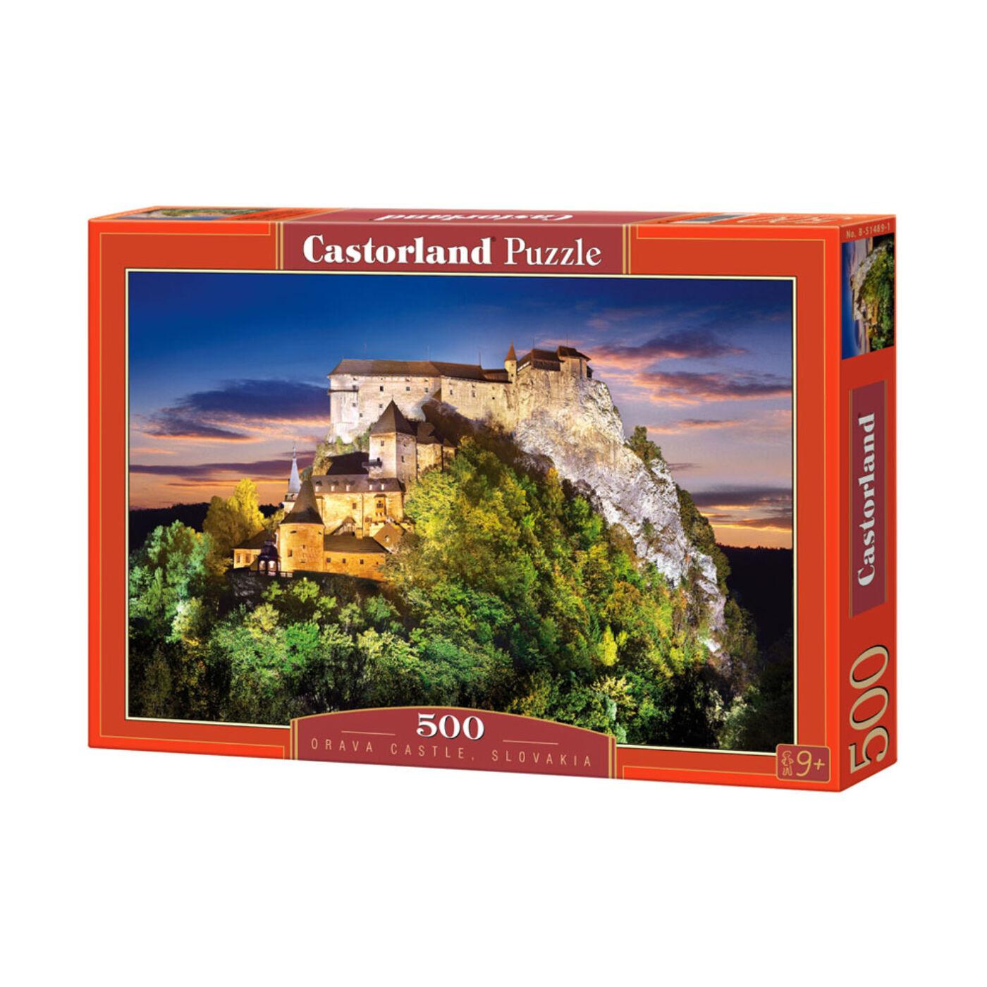 500 db-os Puzzle – Orava Kastély, Szlovákia