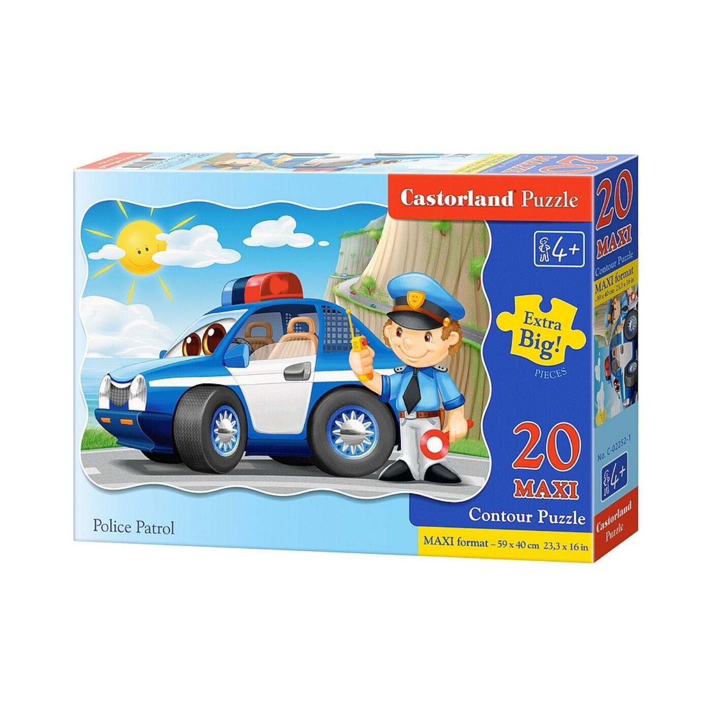 20 db-os maxi puzzle - Rendőri ellenőrzés