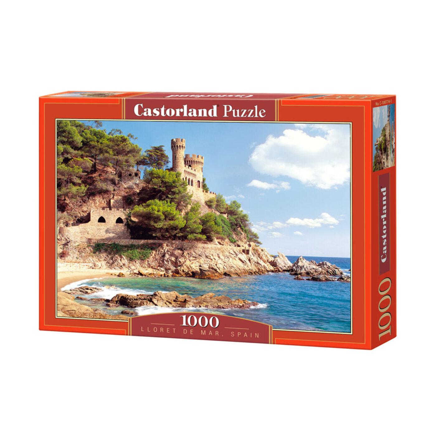 1000 db-os Castorland Puzzle - Lloret de Mar, Spanyolország