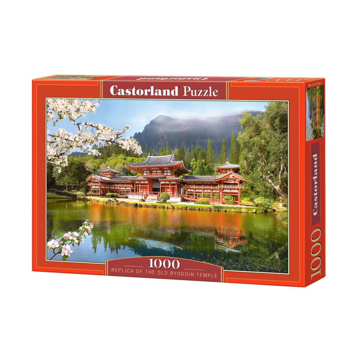 1000 db-os Castorland Puzzle - Másolat az Öreg Byodoin Templomról