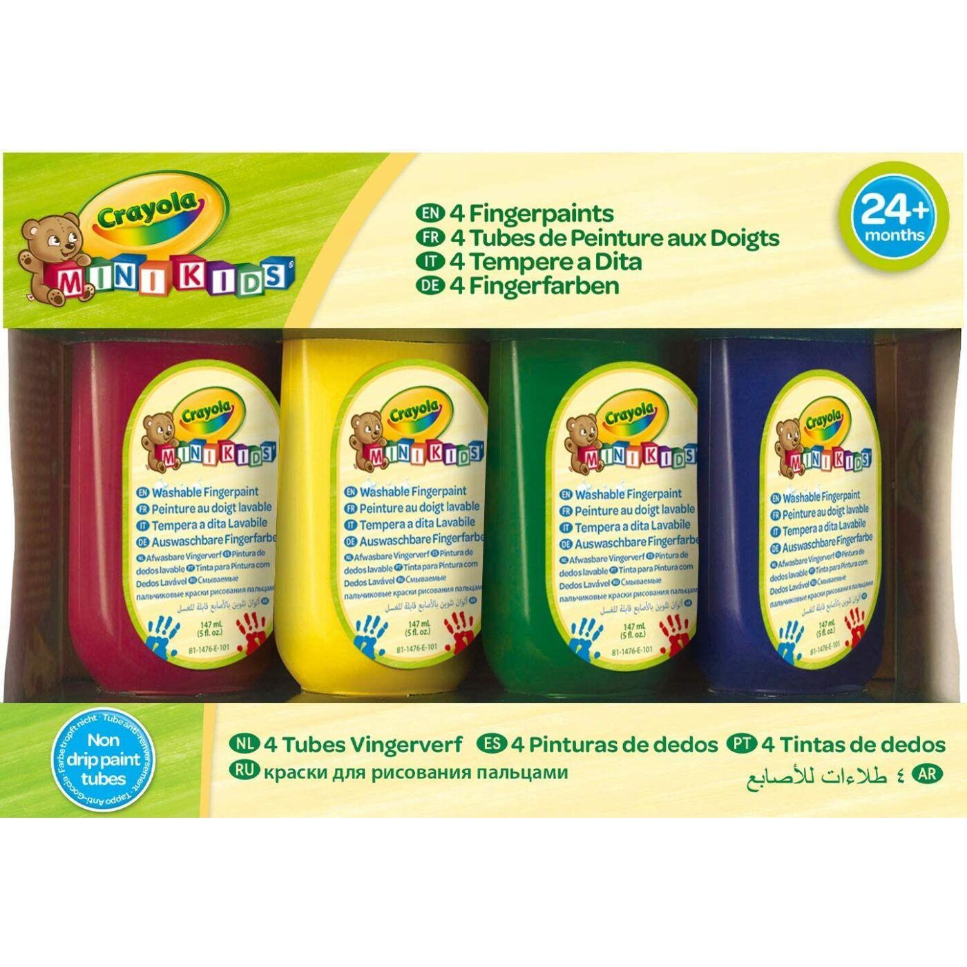 Crayola lemosható ujjfesték