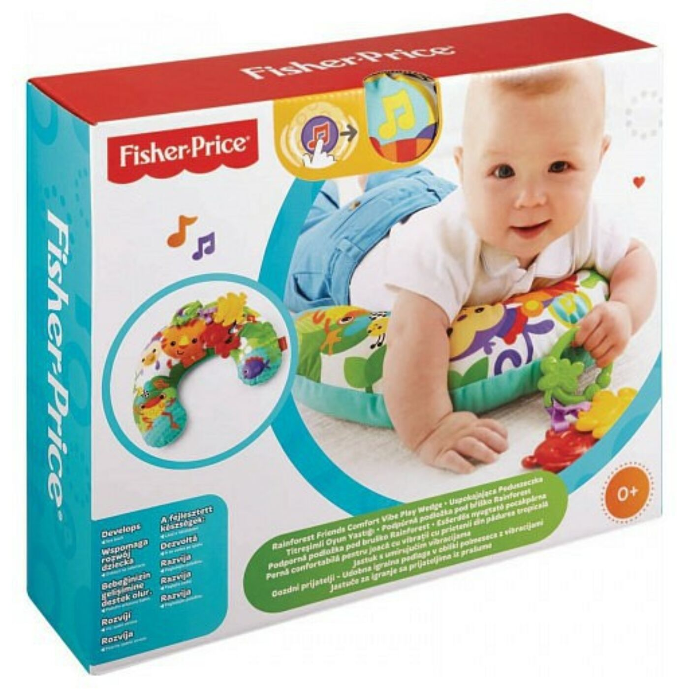 Fisher Price nyugtató pocak párna