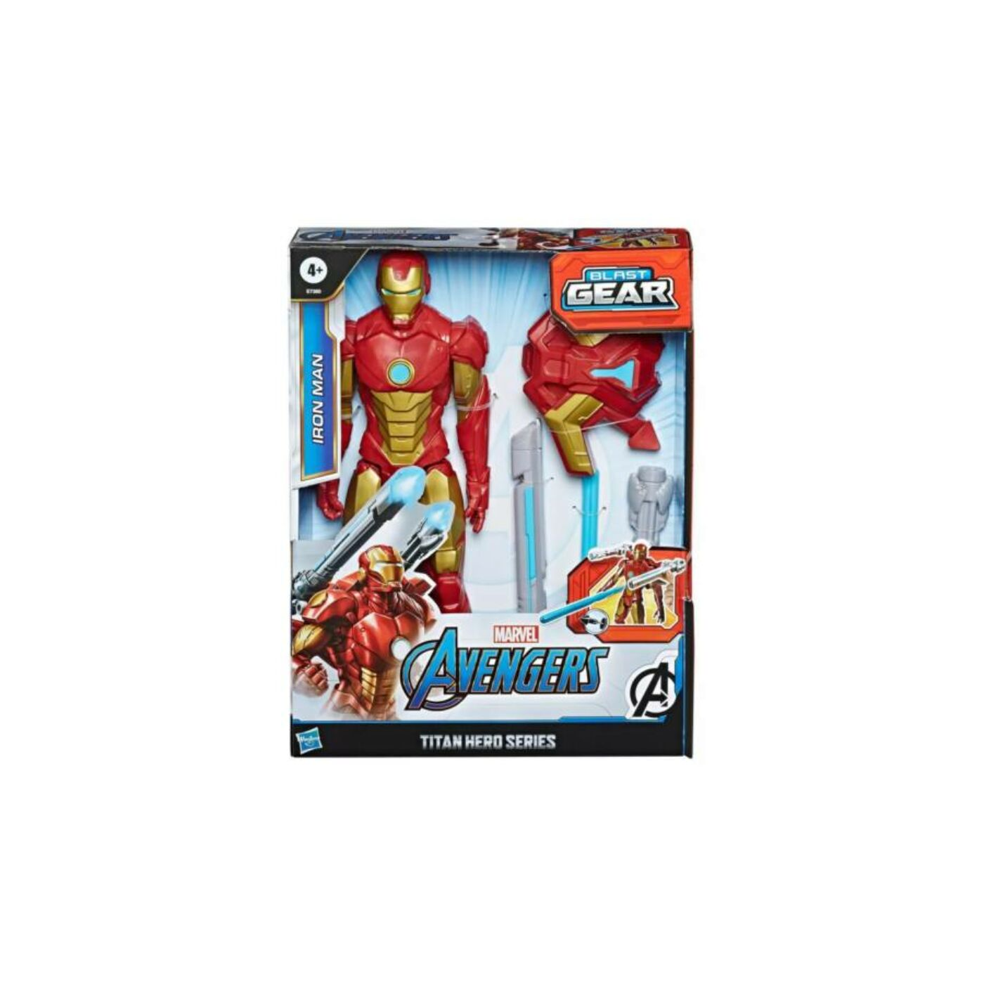 Avengers Titán hős Vasember figura