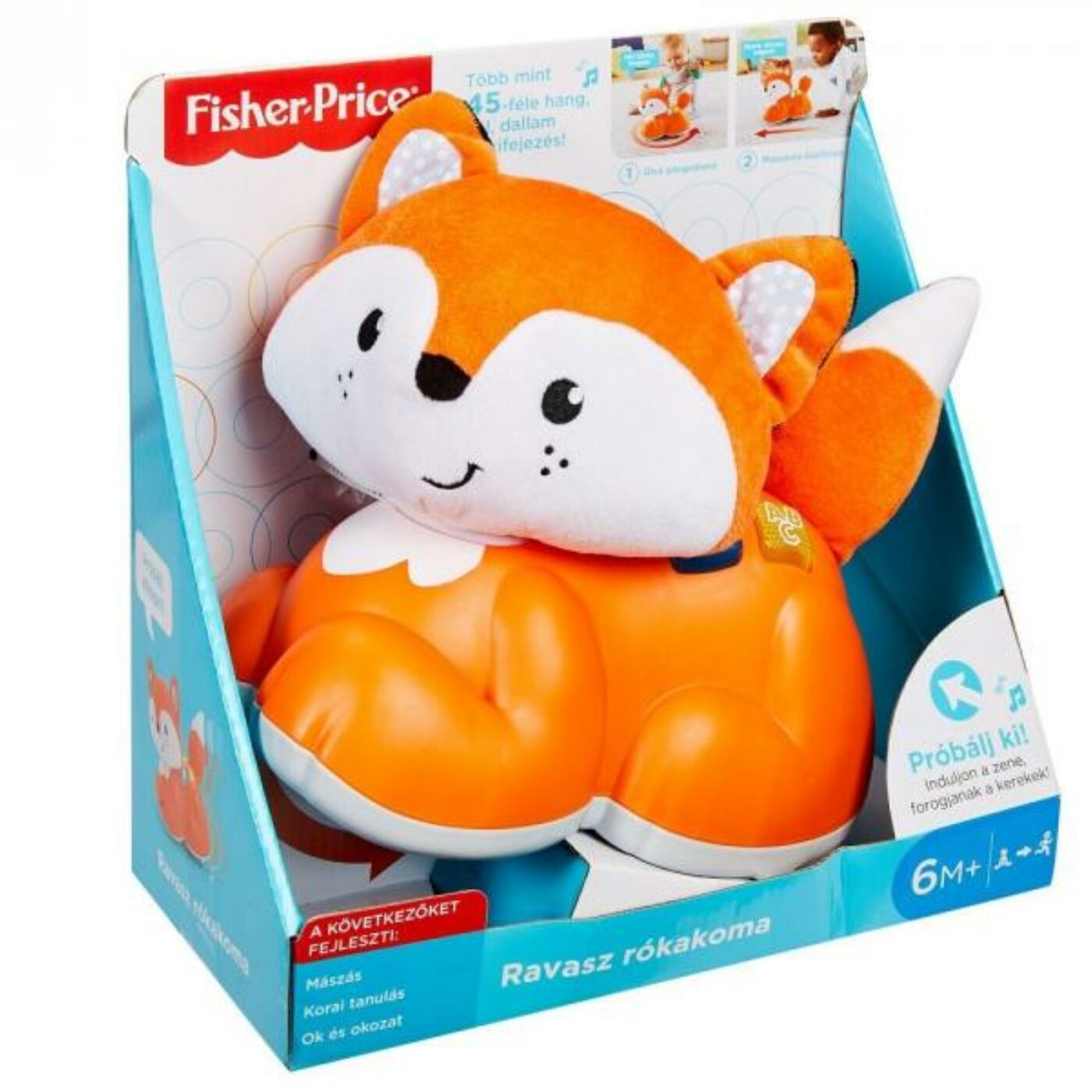 Fisher Price Ravasz rókakoma