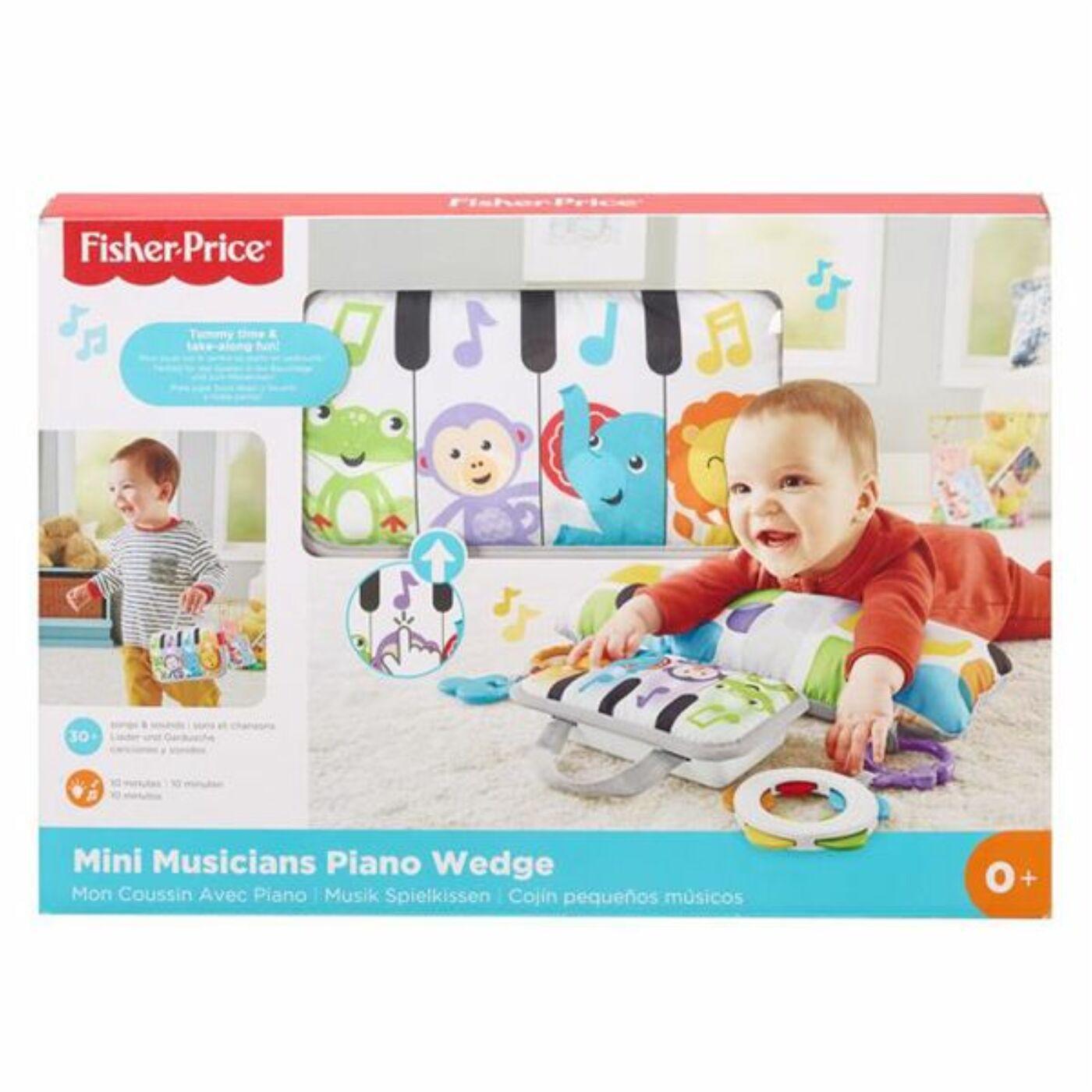Fisher Price Puha zongora pocakpárna