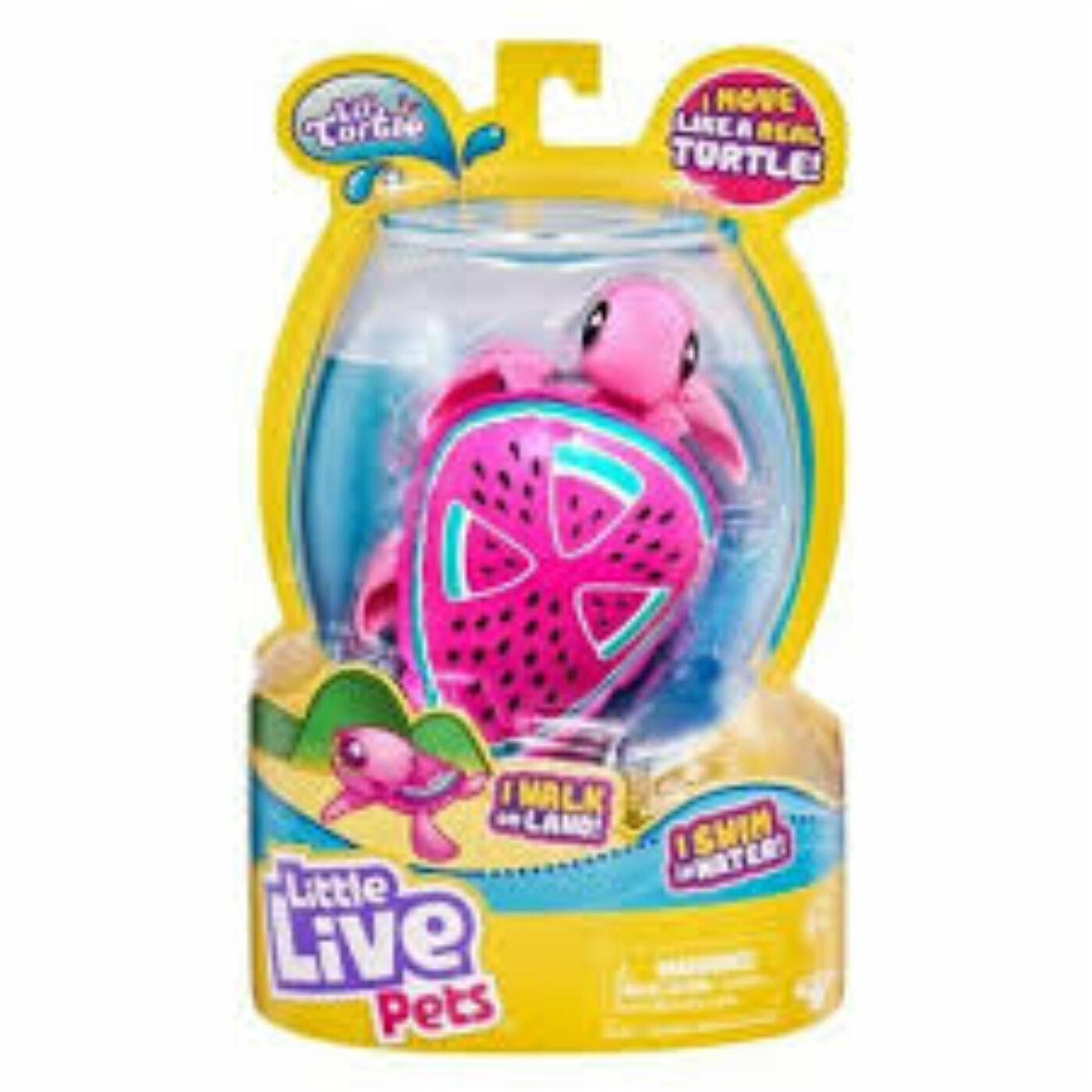 Little Live Pet - Úszkáló kisteknős