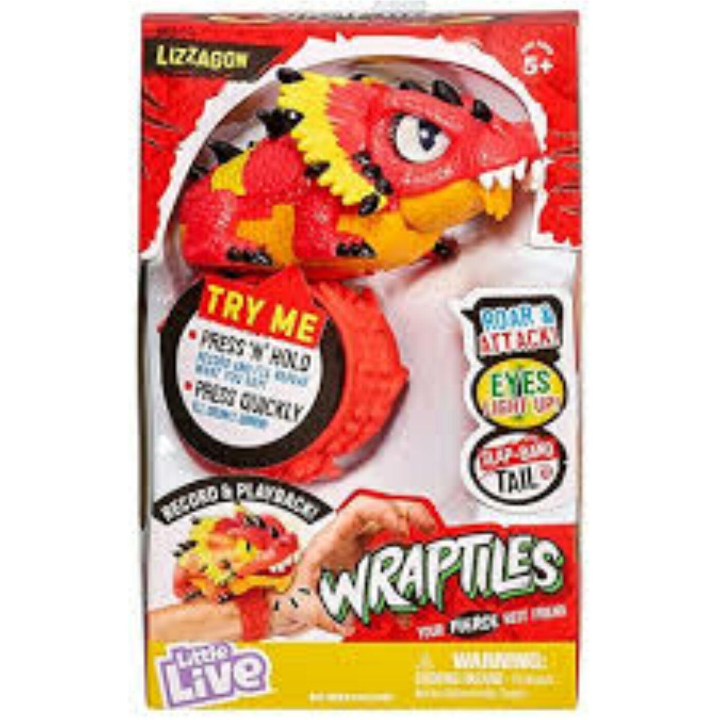 Wraptiles - Interaktív hüllő