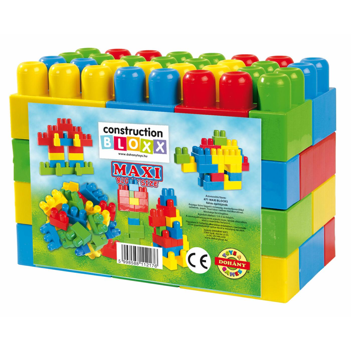 Maxi Blocks fóliás