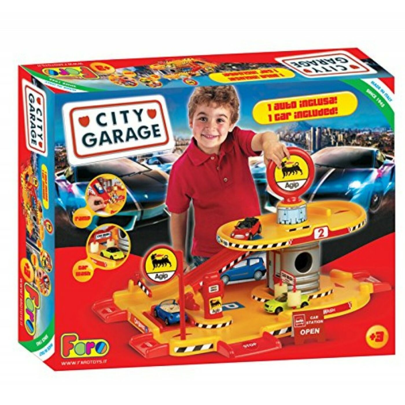 City garázs 2 szintes