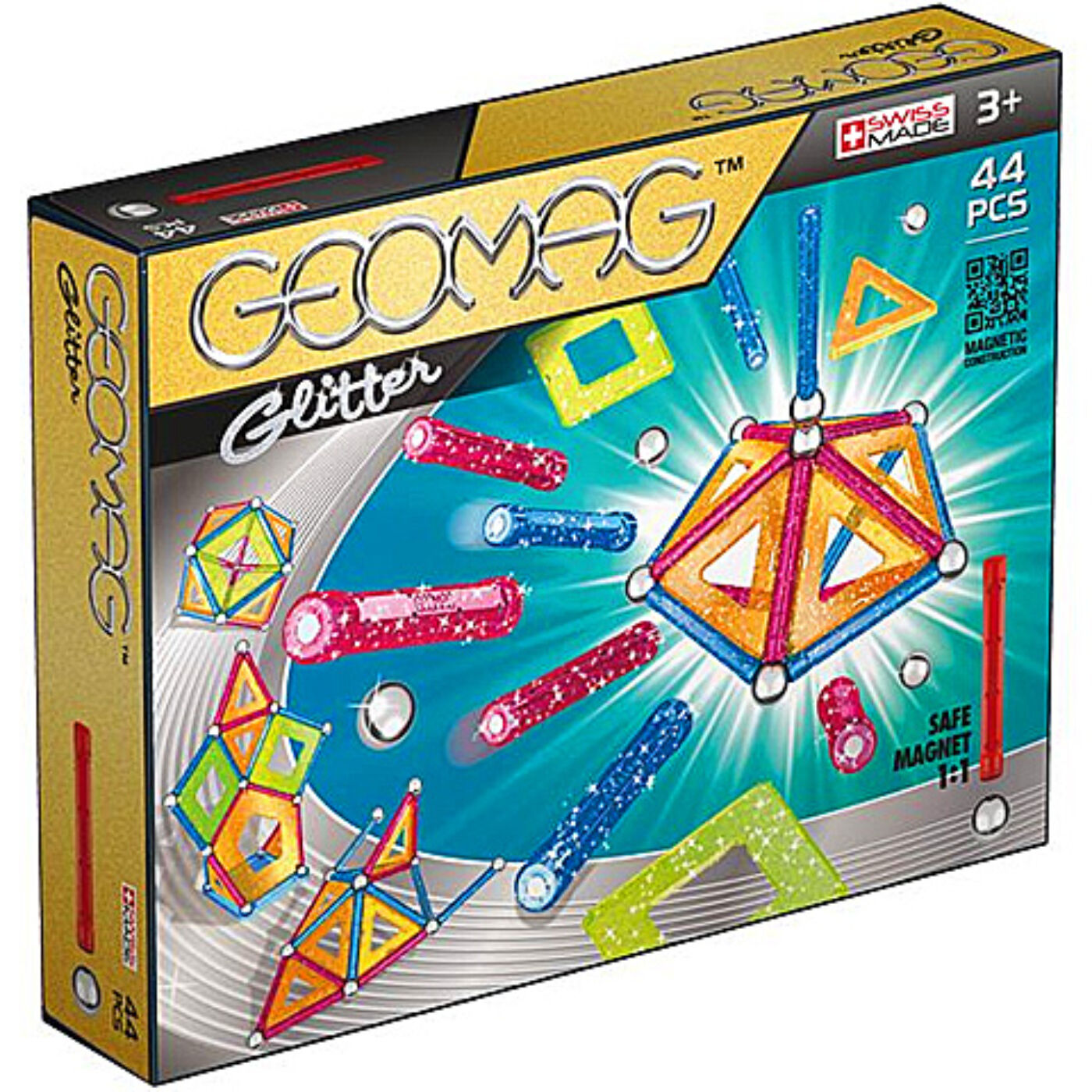 Geomag csillogós 44 db