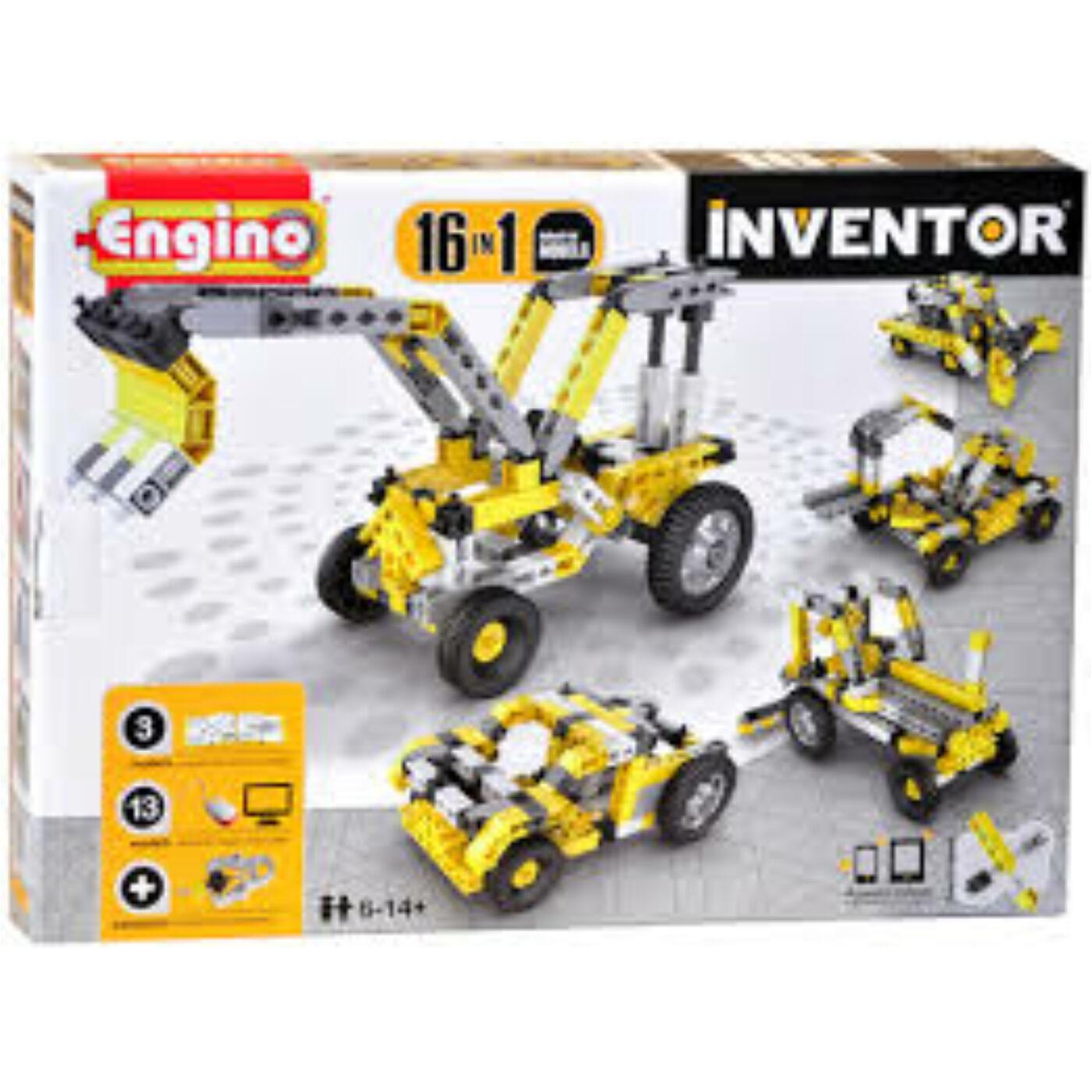 Engino Inventor munkagépek 16in1