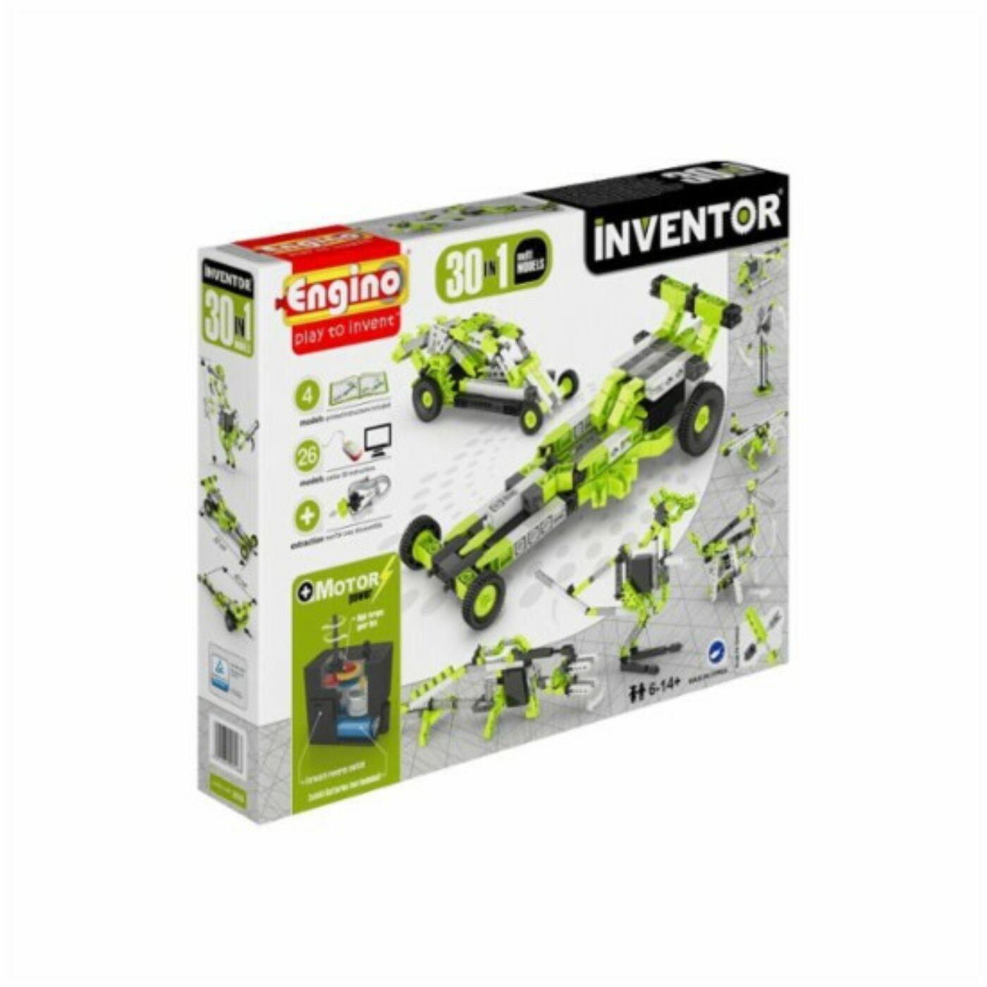 Engino Inventor motorizált modellek 30in1