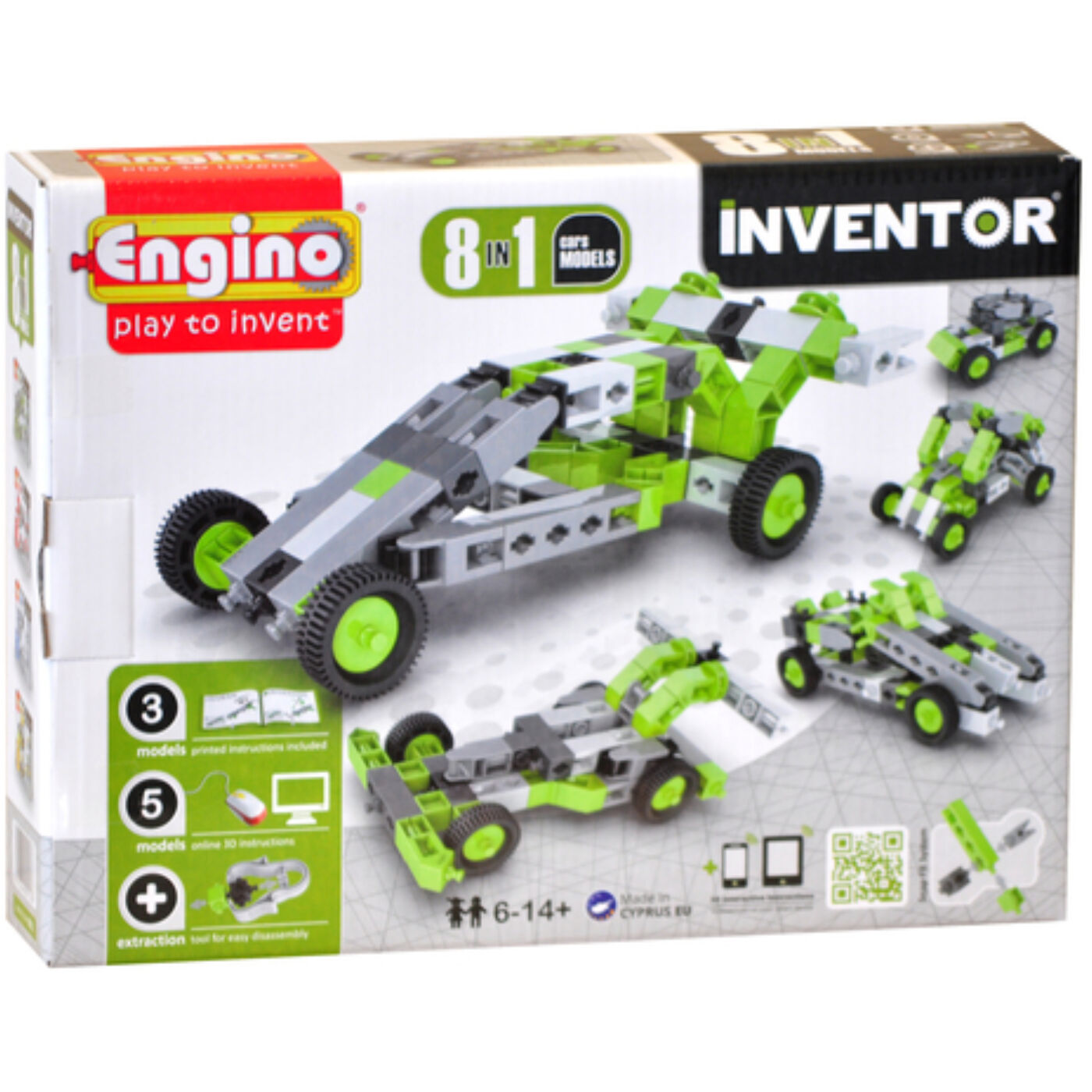 Engino Inventor autók 8in1