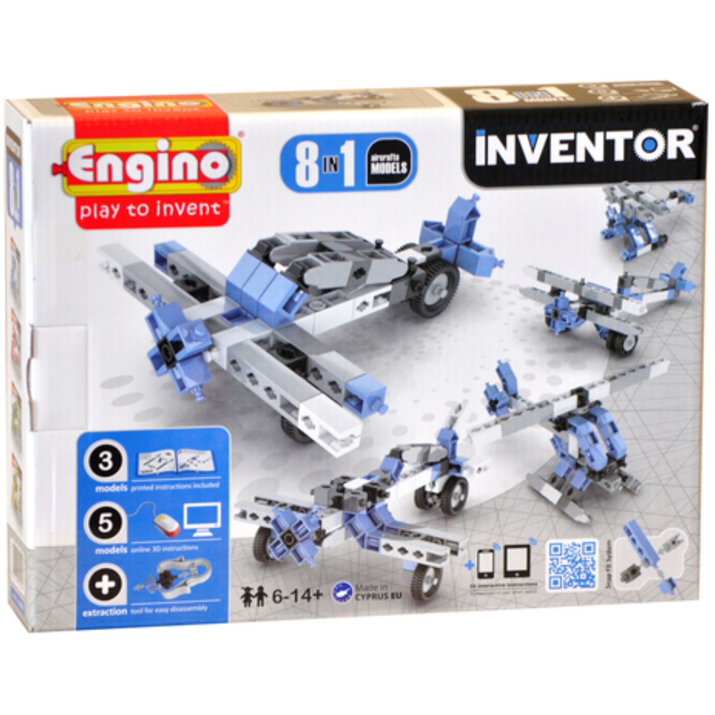 Engino Inventor repülők 8in1
