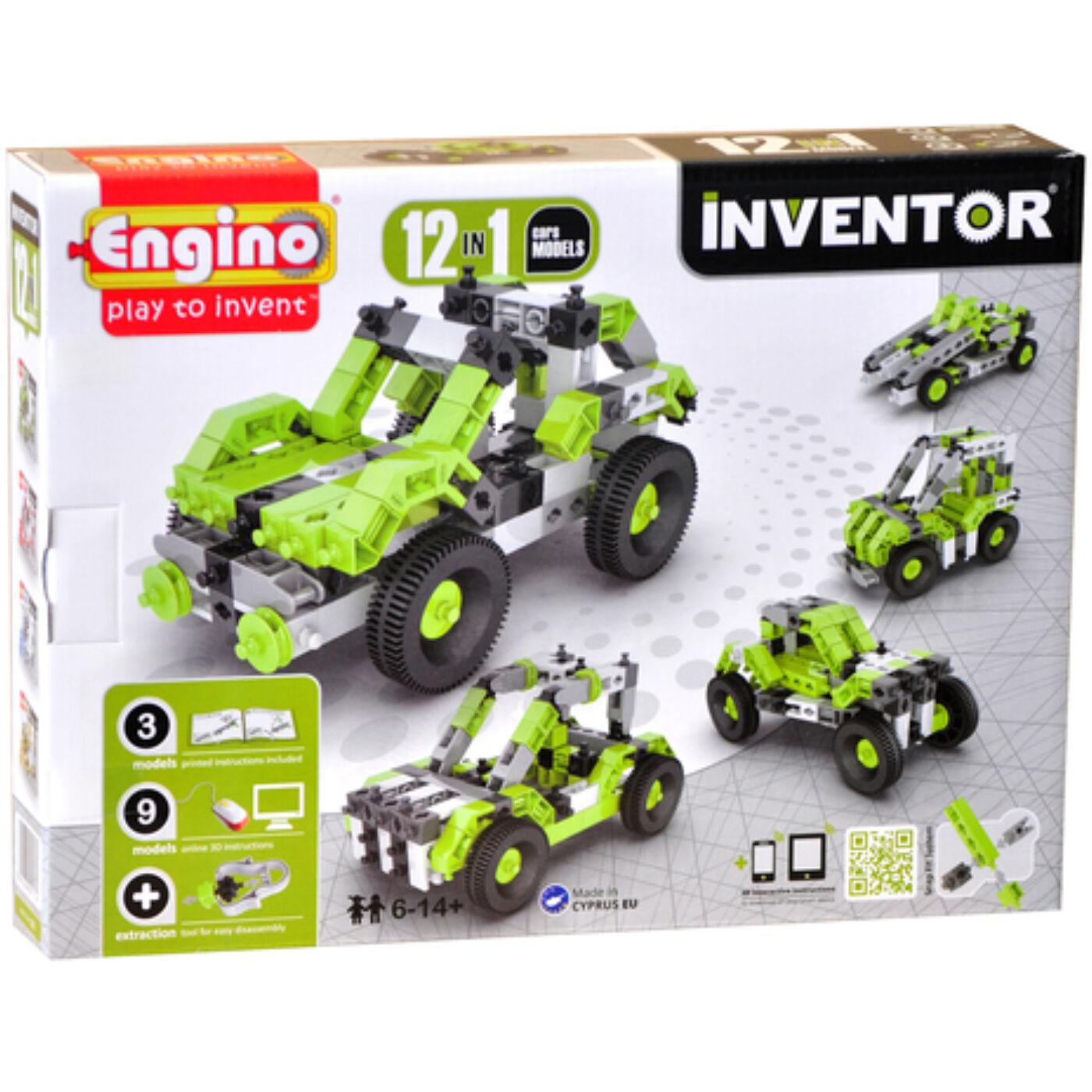 Engino Inventor autók 12in1