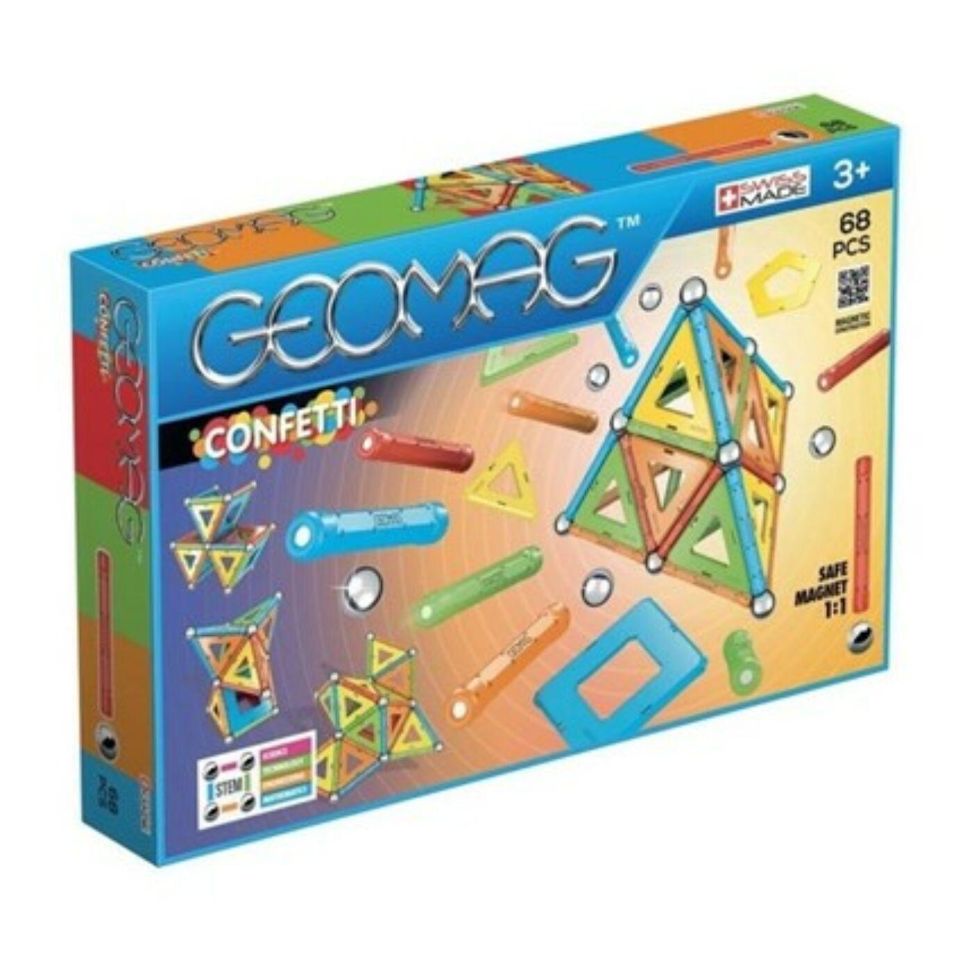 Geomag confetti 68 db-os
