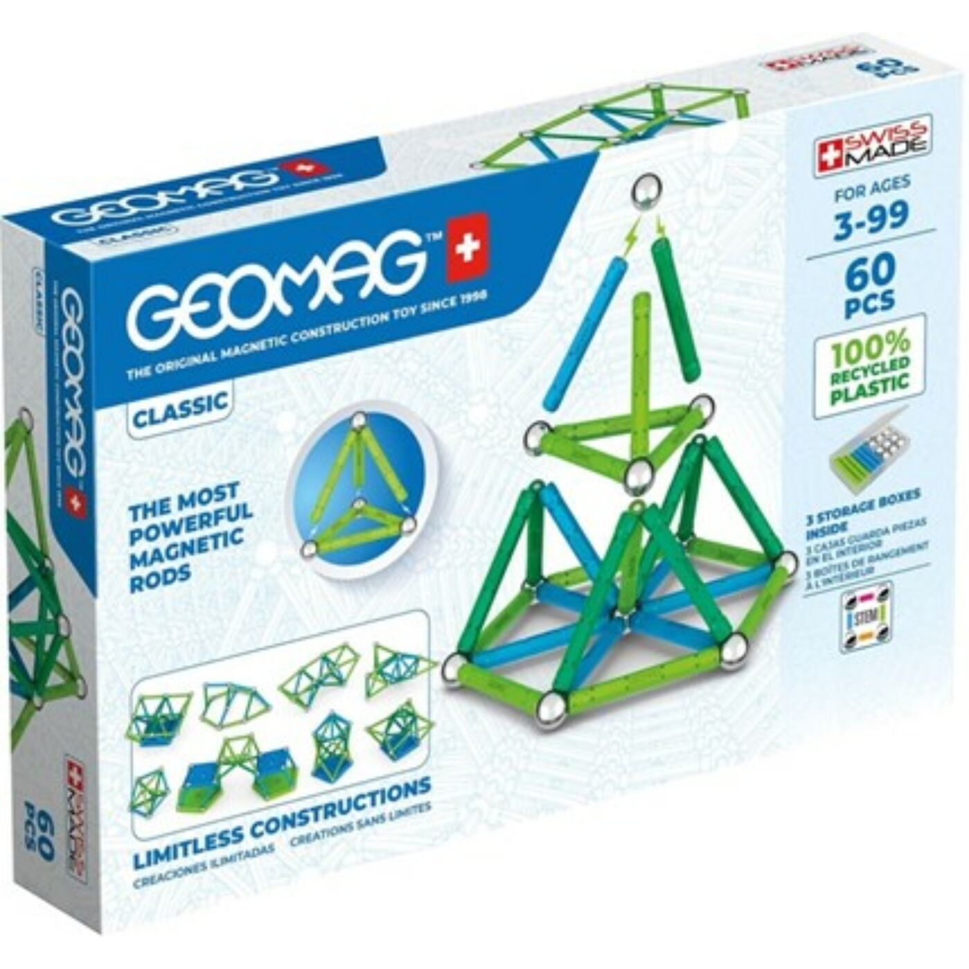 Geomag Classic  Green Line 60 db