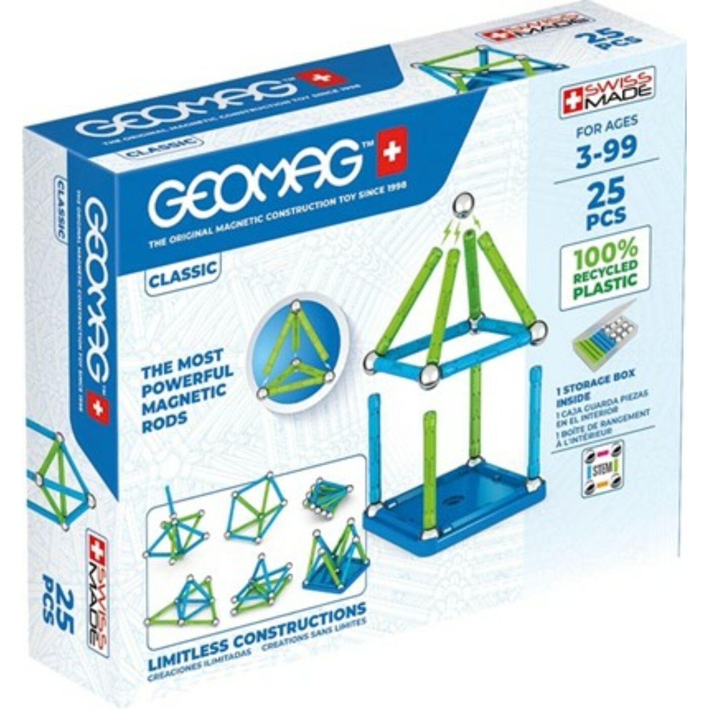 Geomag Classic Green Line 25 db