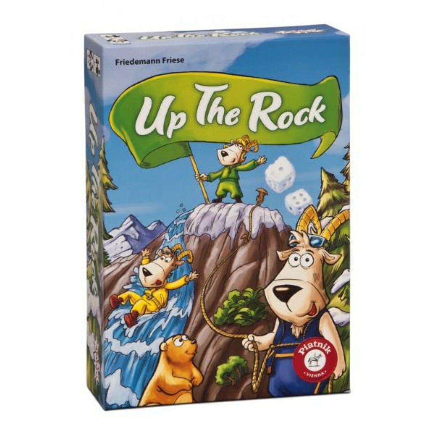 Up to the rock